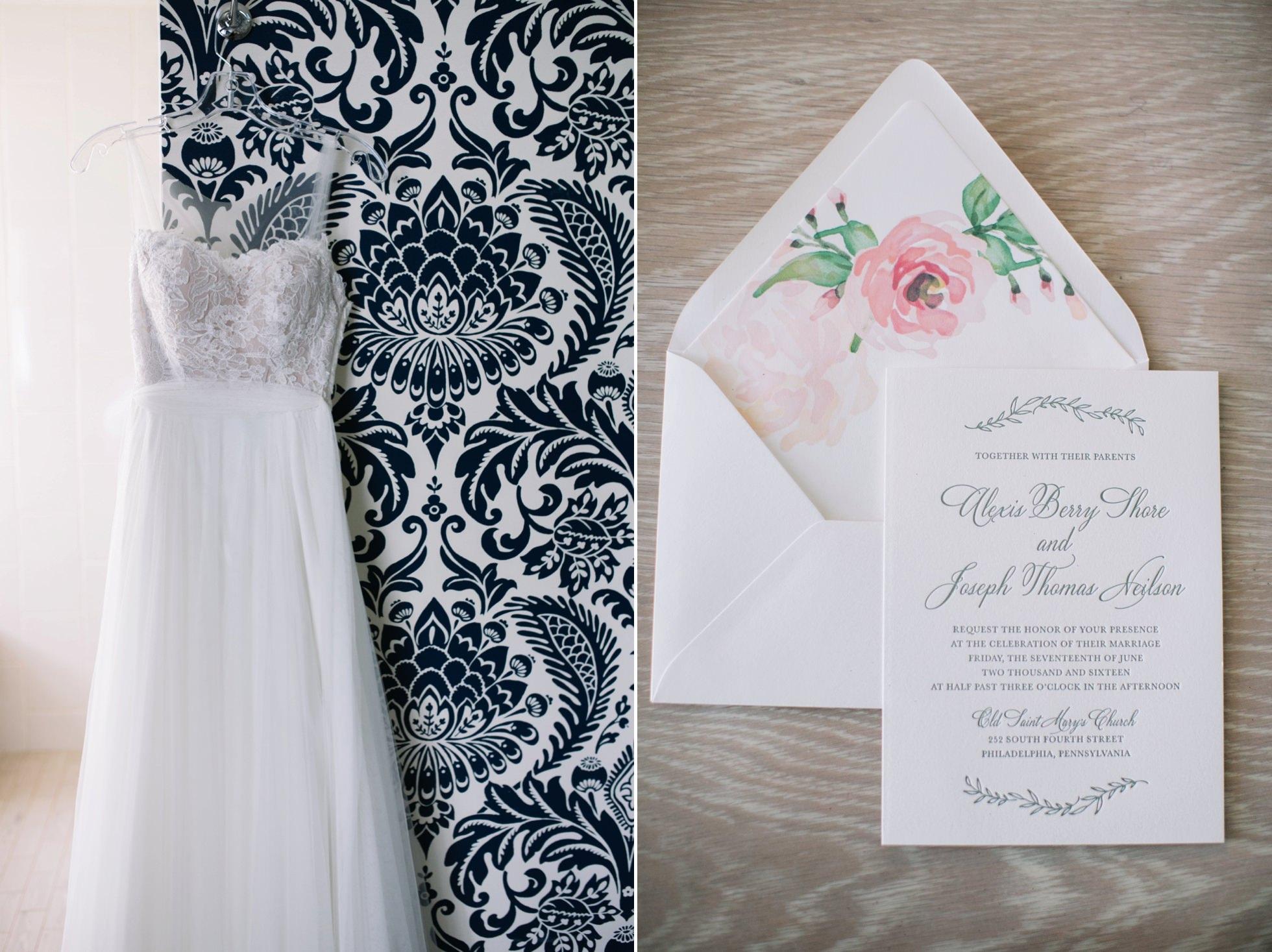 Romantic Bartram's Garden Outdoor Summer Wedding, Philadelphia | brittneyraine.com 002