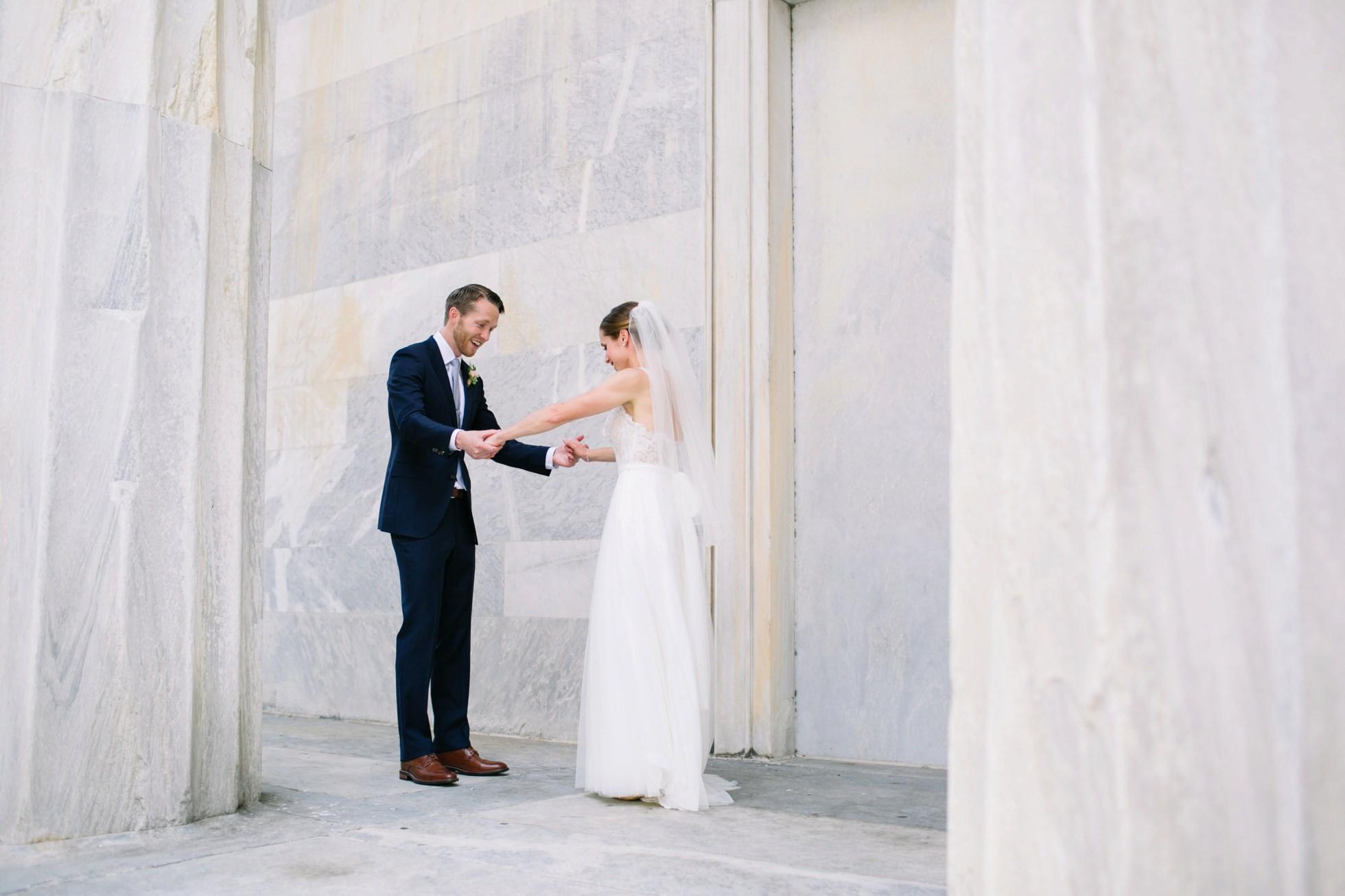 Romantic Bartram's Garden Outdoor Summer Wedding, Philadelphia | brittneyraine.com 022