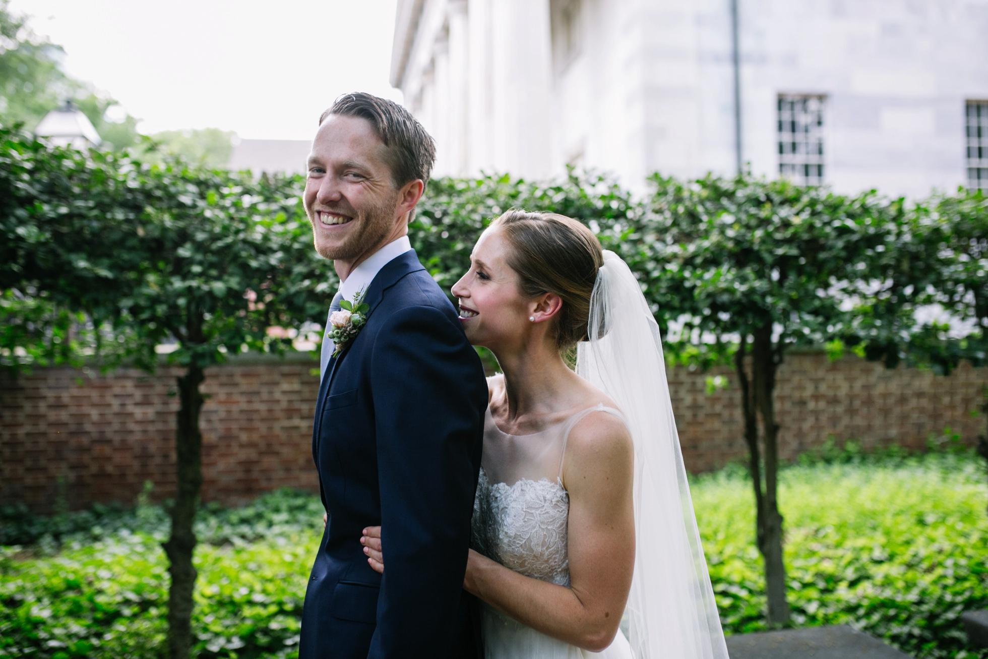 Romantic Bartram's Garden Outdoor Summer Wedding, Philadelphia | brittneyraine.com 030