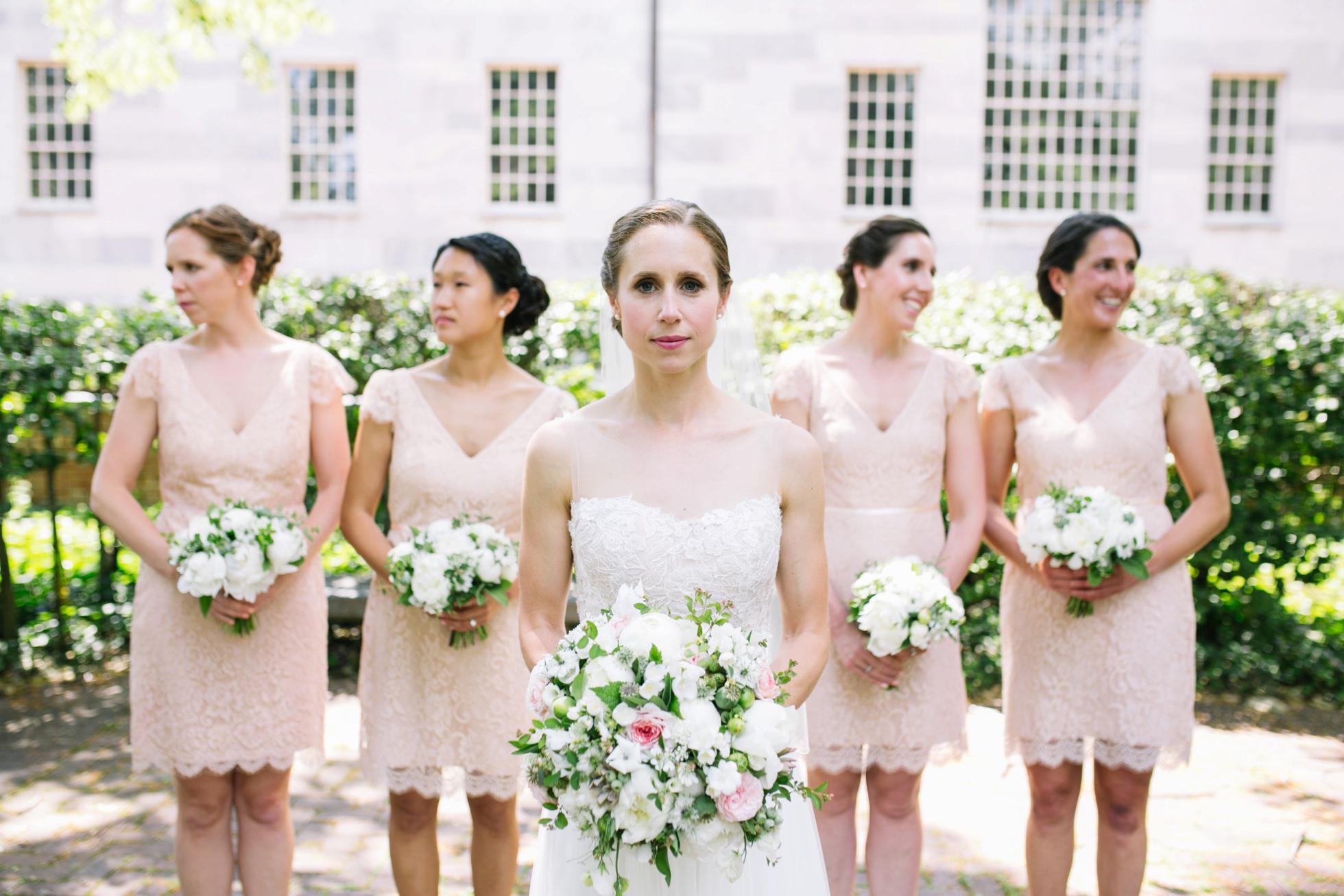 Romantic Bartram's Garden Outdoor Summer Wedding, Philadelphia | brittneyraine.com 035