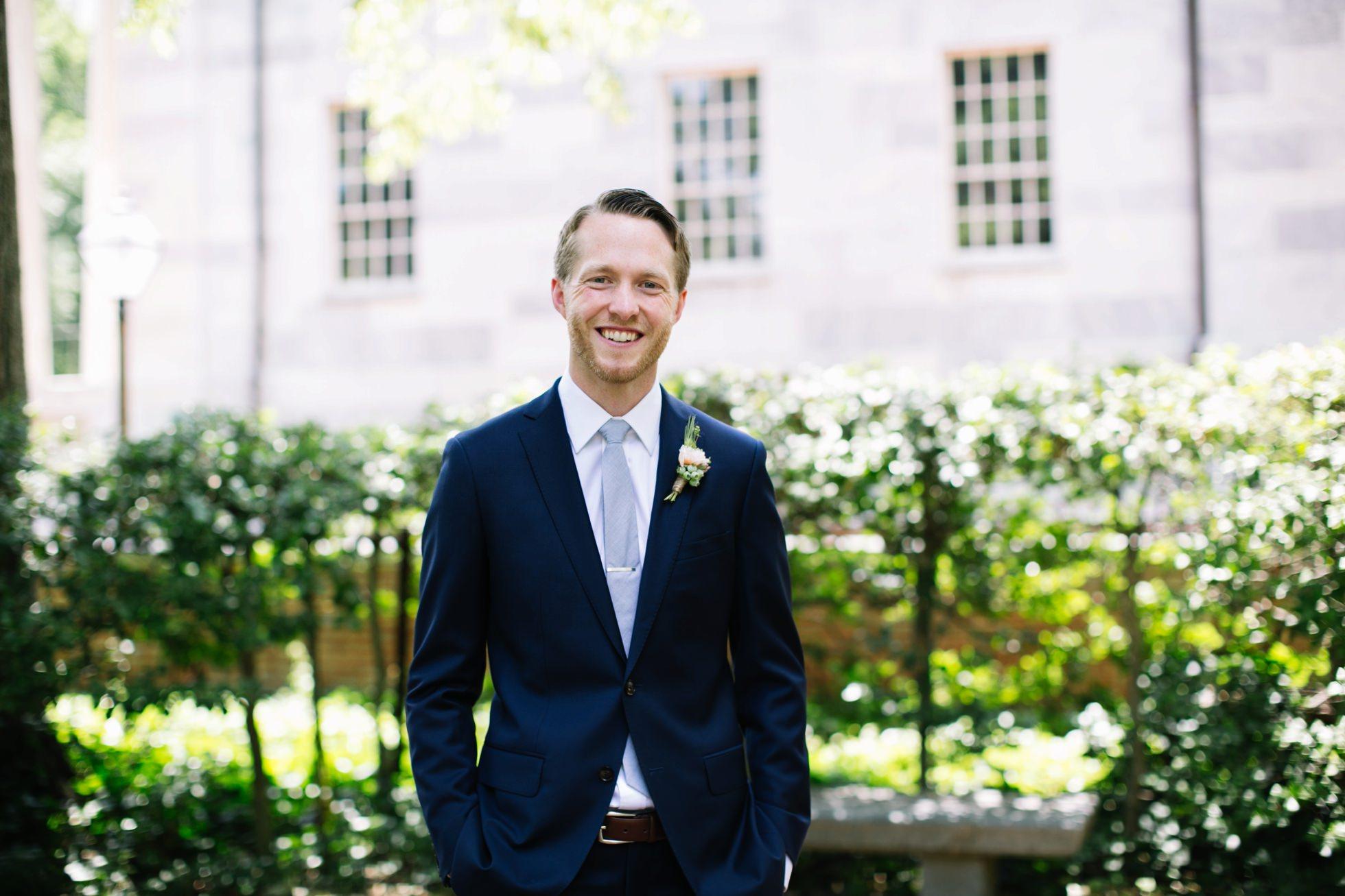 Romantic Bartram's Garden Outdoor Summer Wedding, Philadelphia | brittneyraine.com 039