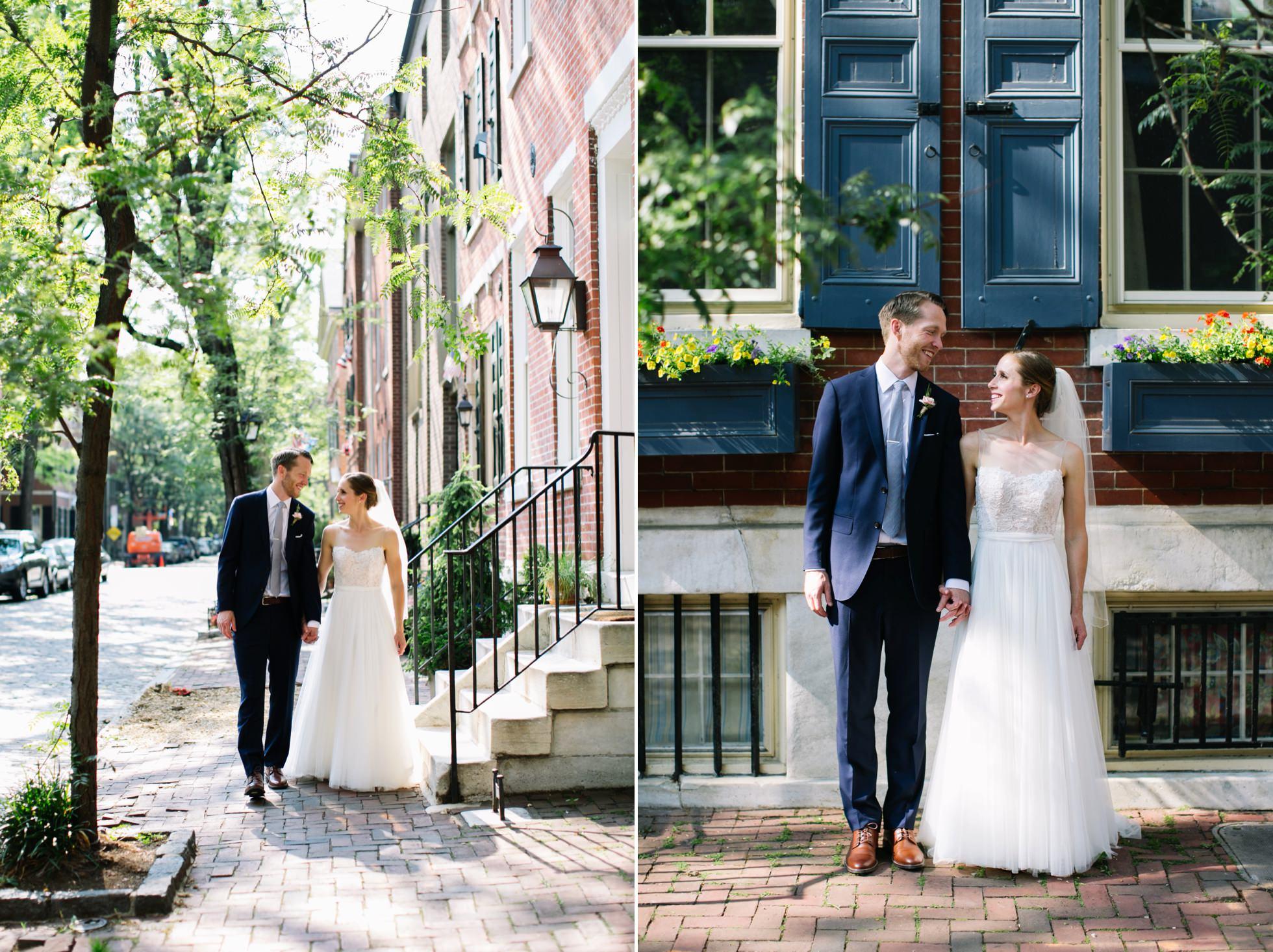 Romantic Bartram's Garden Outdoor Summer Wedding, Philadelphia | brittneyraine.com 054
