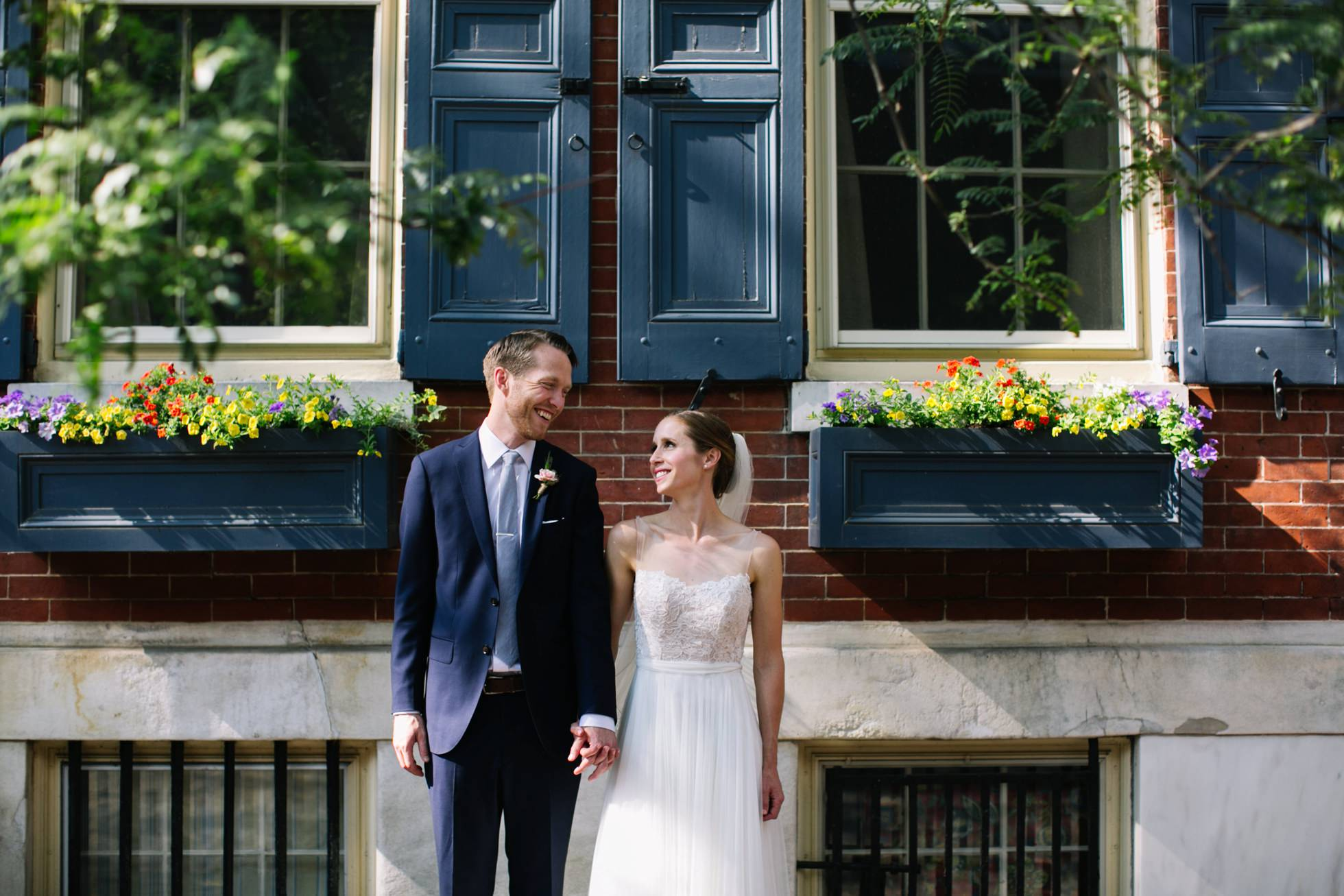 Romantic Bartram's Garden Outdoor Summer Wedding, Philadelphia | brittneyraine.com 055