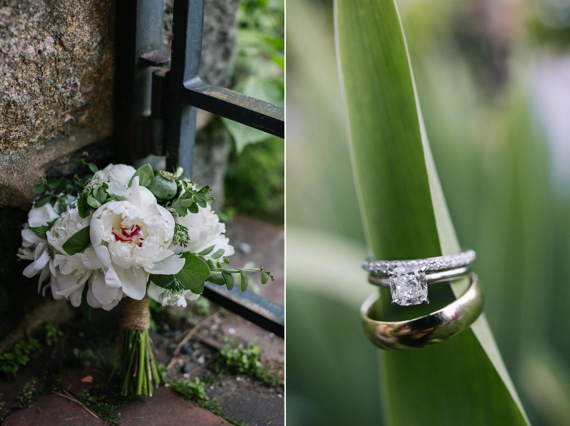 Romantic Bartram's Garden Outdoor Summer Wedding, Philadelphia | brittneyraine.com 063
