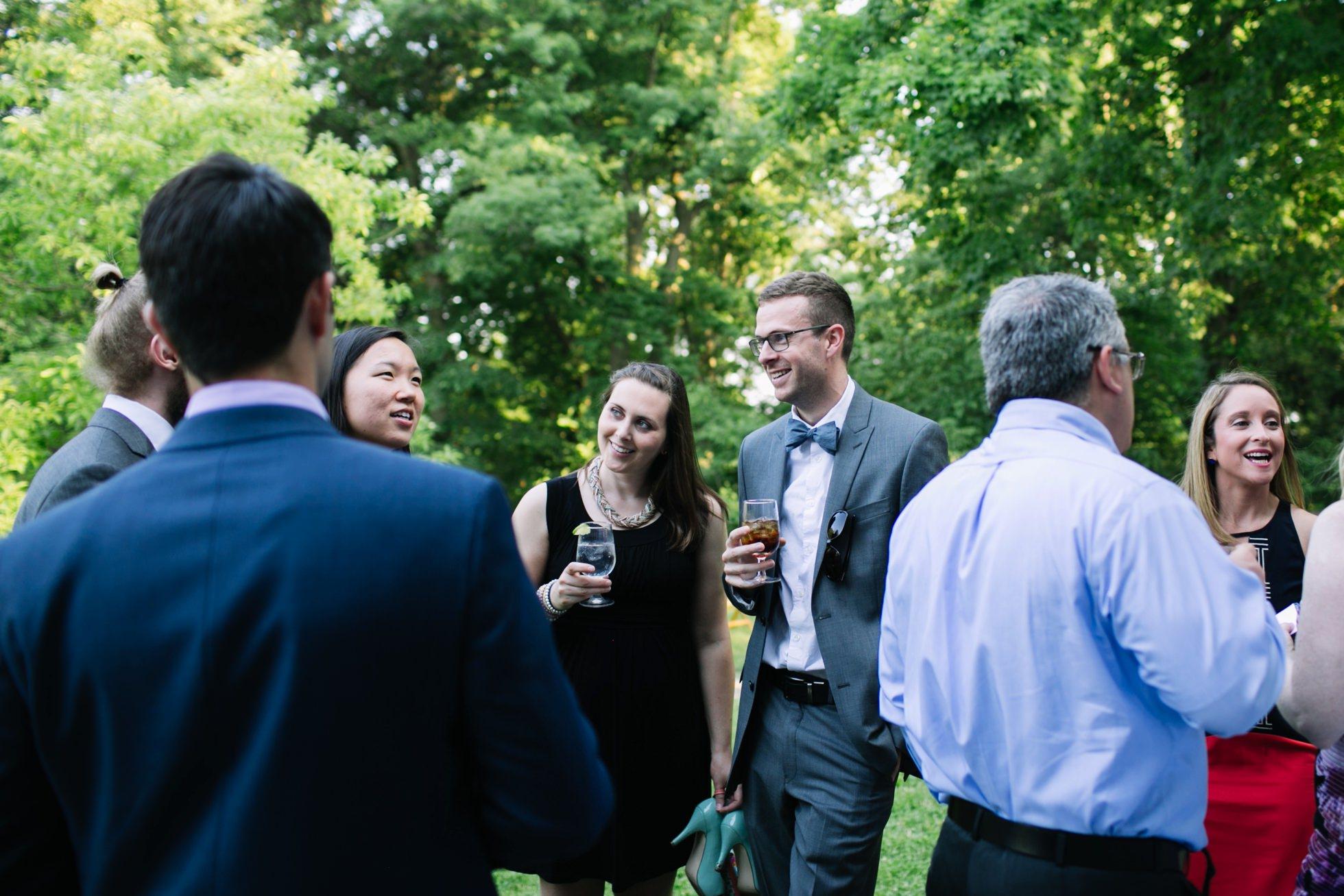 Romantic Bartram's Garden Outdoor Summer Wedding, Philadelphia | brittneyraine.com 066