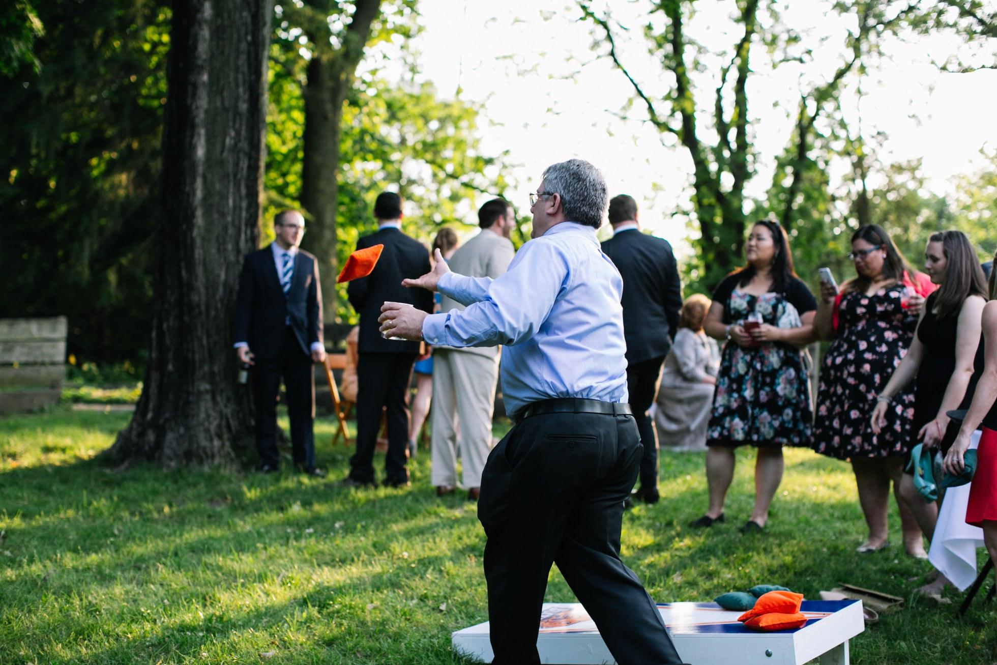 Romantic Bartram's Garden Outdoor Summer Wedding, Philadelphia | brittneyraine.com 068