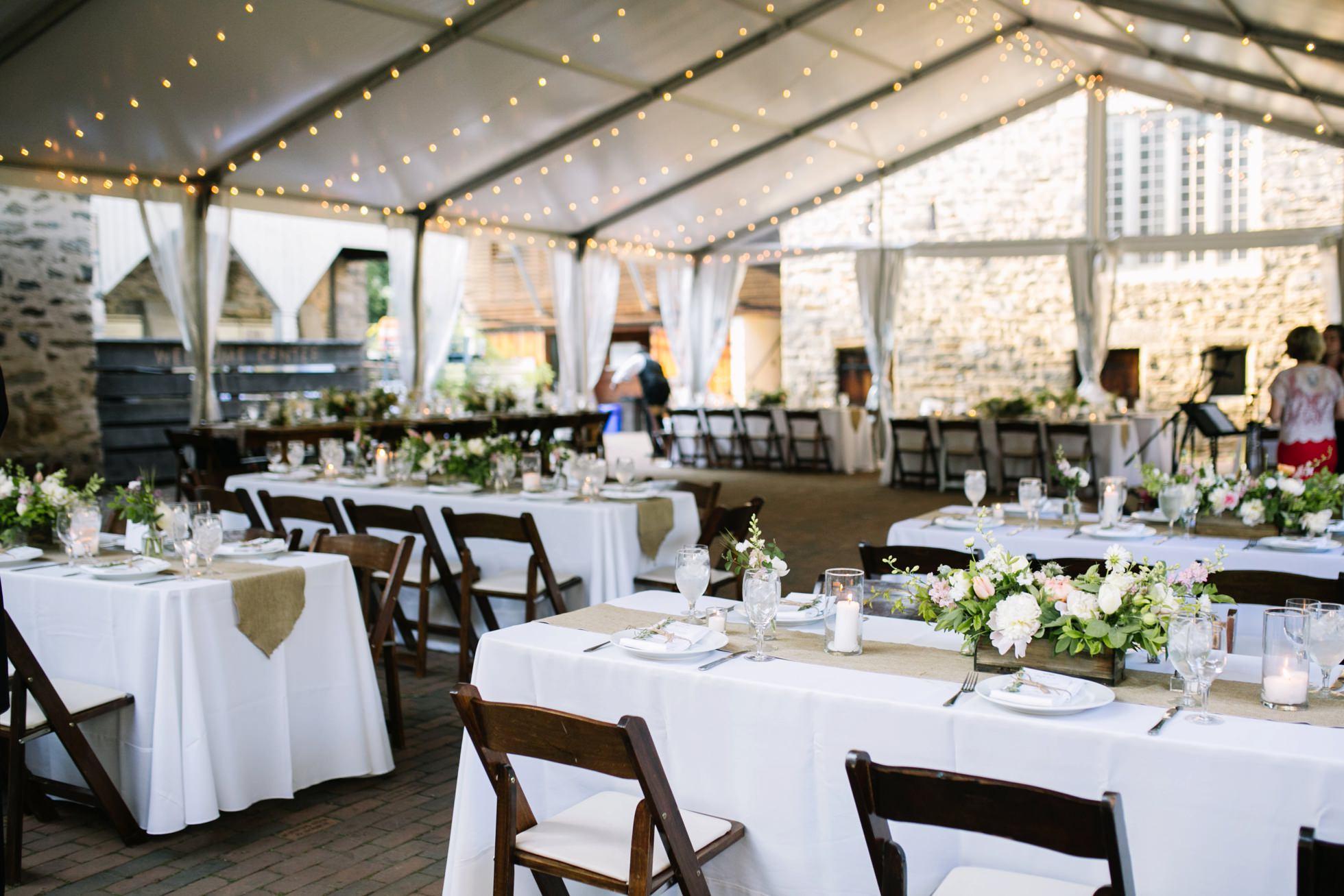Romantic Bartram's Garden Outdoor Summer Wedding, Philadelphia | brittneyraine.com 069