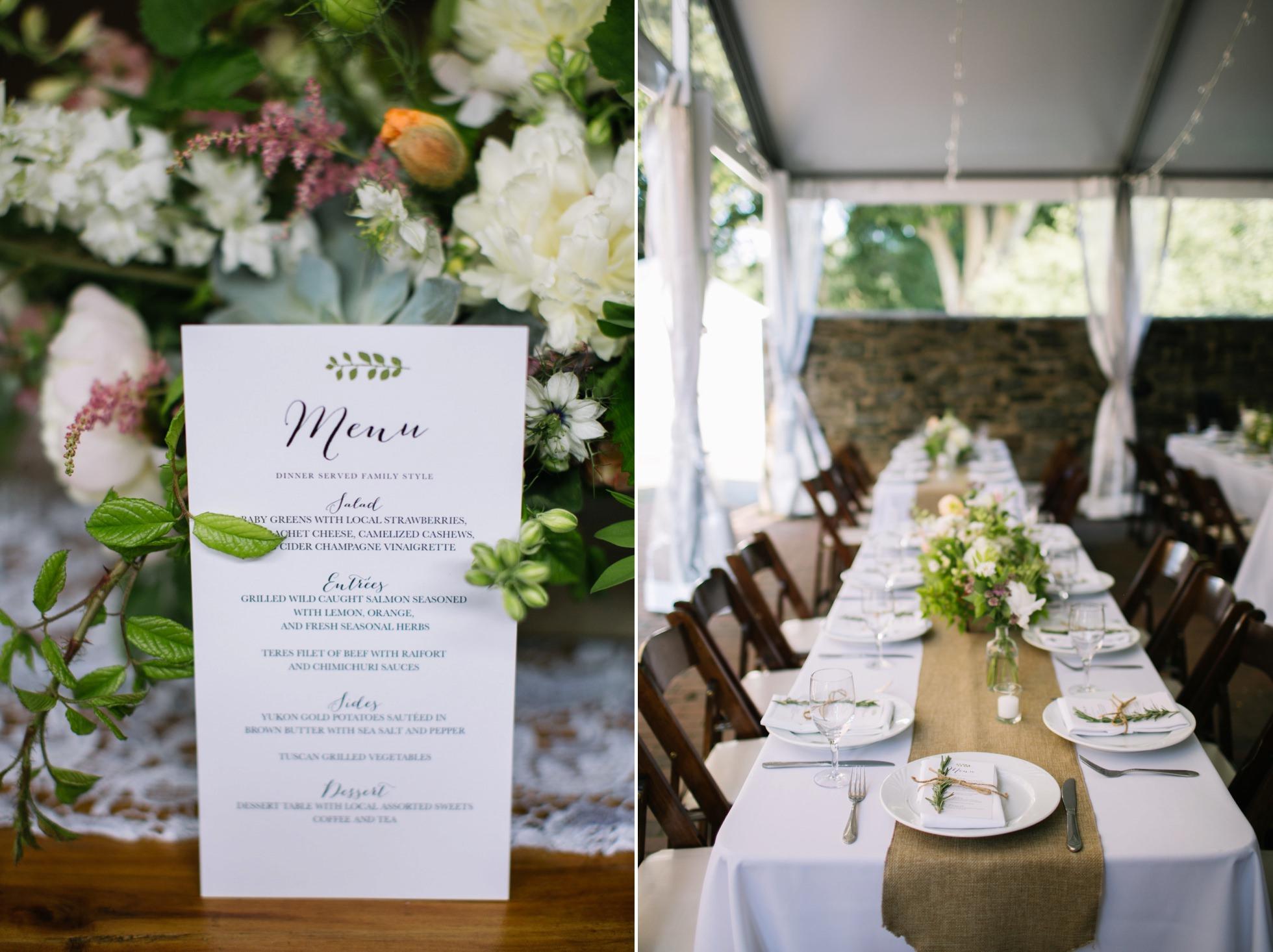Romantic Bartram's Garden Outdoor Summer Wedding, Philadelphia | brittneyraine.com 074