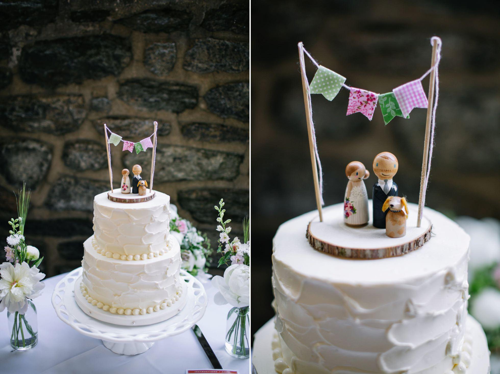 Romantic Bartram's Garden Outdoor Summer Wedding, Philadelphia | brittneyraine.com 076