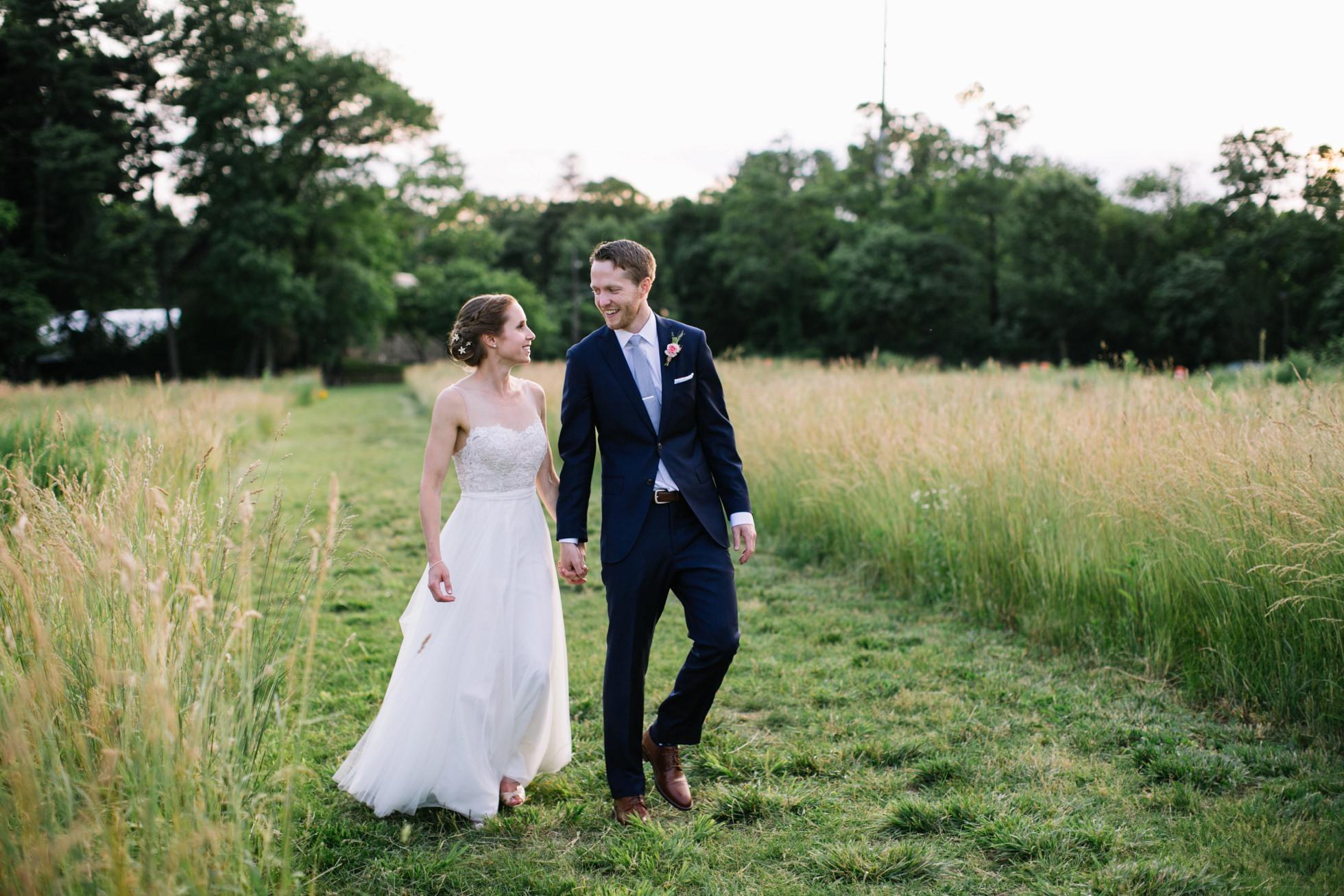 Romantic Bartram's Garden Outdoor Summer Wedding, Philadelphia | brittneyraine.com 078