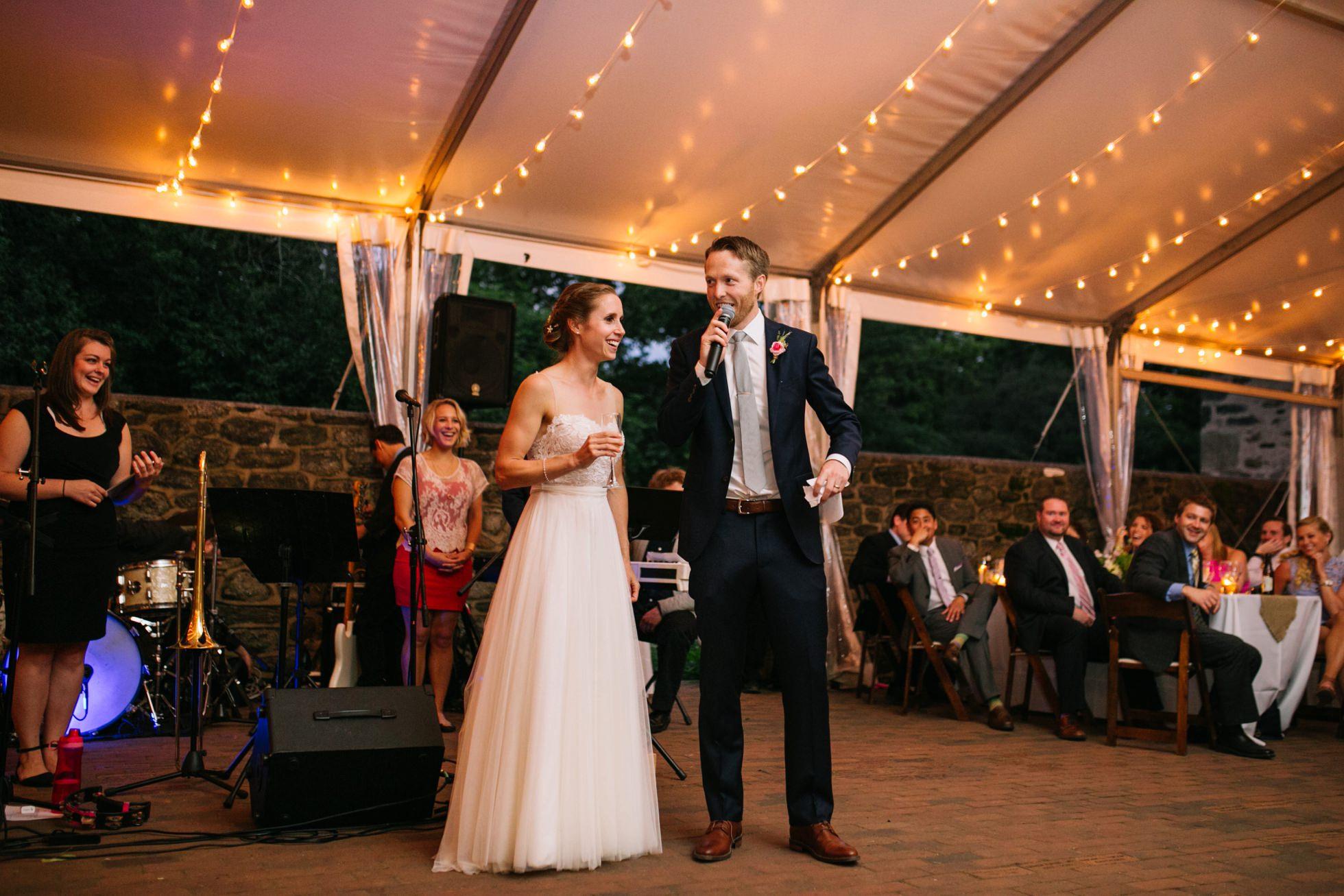 Romantic Bartram's Garden Outdoor Summer Wedding, Philadelphia | brittneyraine.com 090