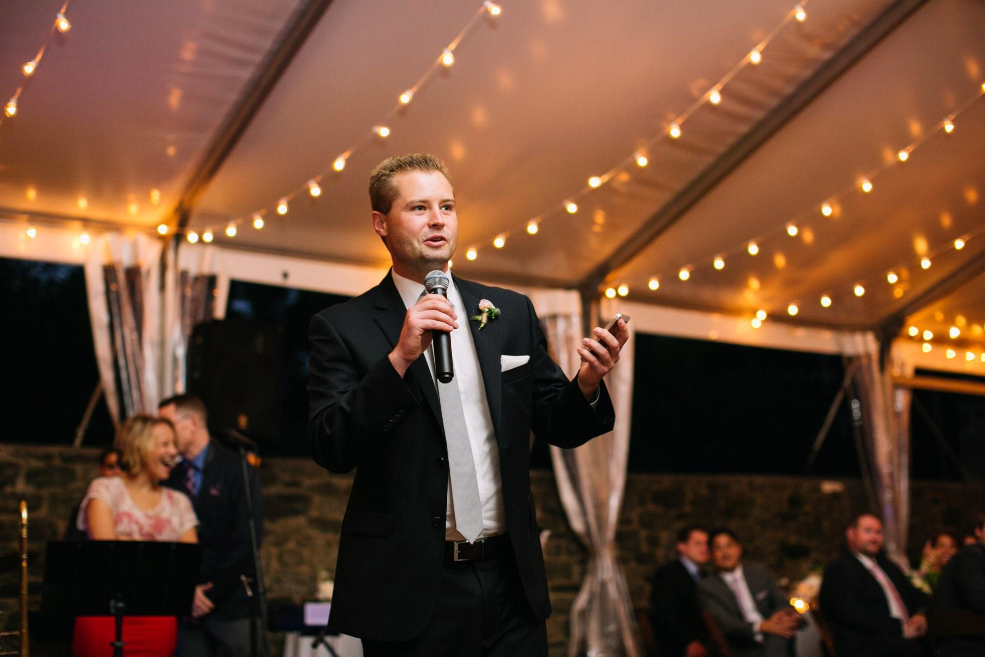 Romantic Bartram's Garden Outdoor Summer Wedding, Philadelphia | brittneyraine.com 095