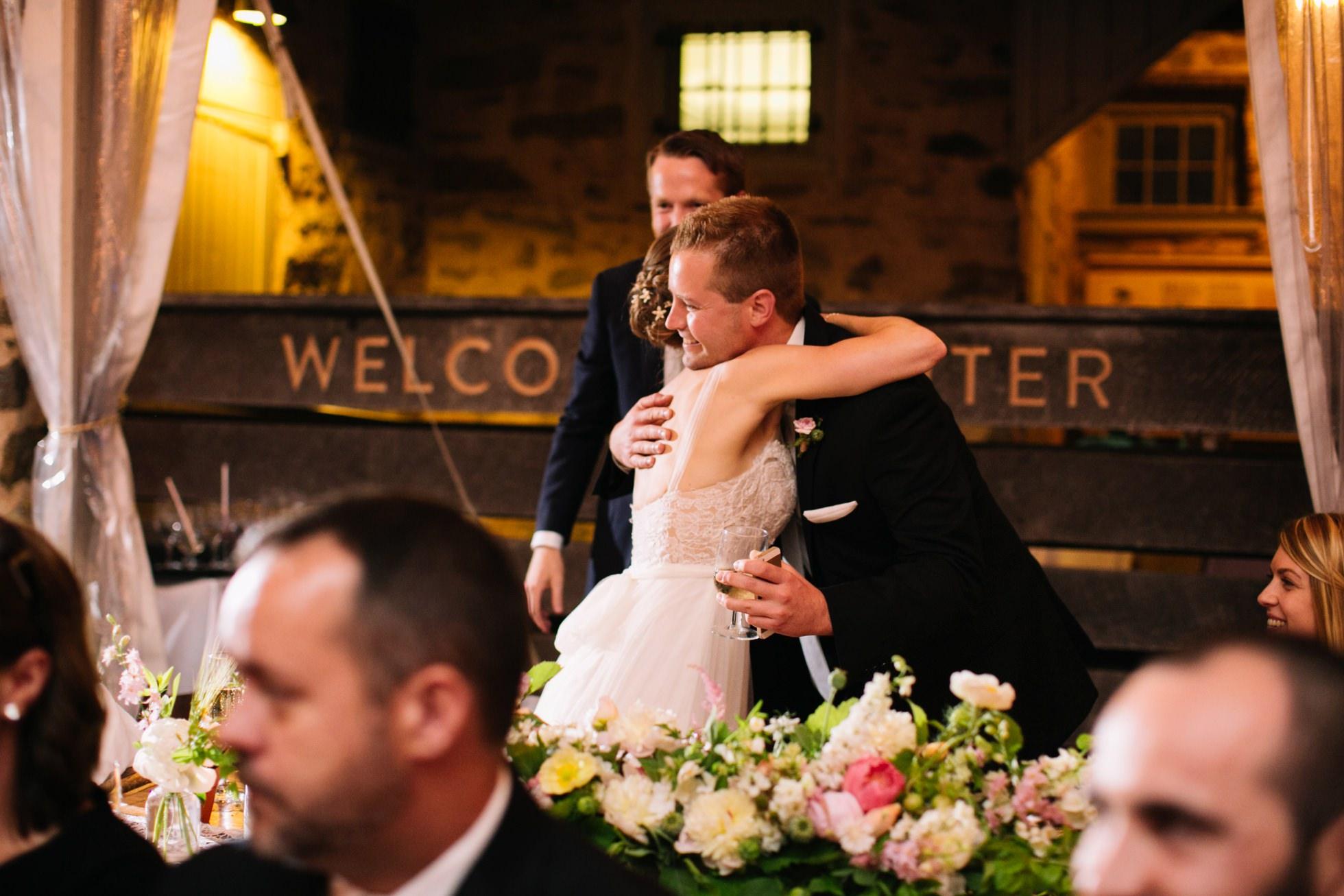 Romantic Bartram's Garden Outdoor Summer Wedding, Philadelphia | brittneyraine.com 098