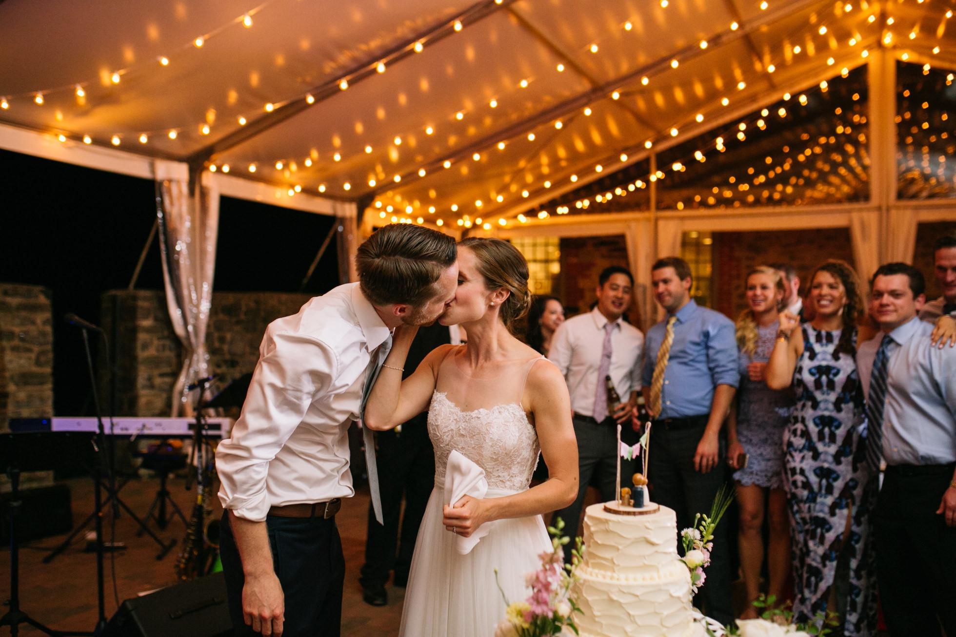Romantic Bartram's Garden Outdoor Summer Wedding, Philadelphia | brittneyraine.com 107