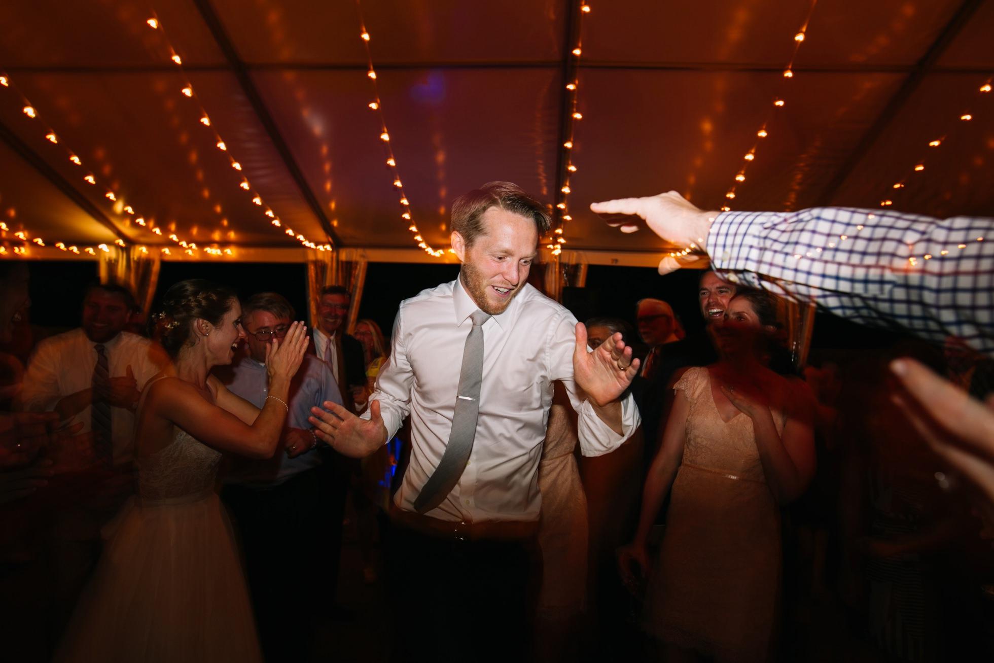Romantic Bartram's Garden Outdoor Summer Wedding, Philadelphia | brittneyraine.com 110