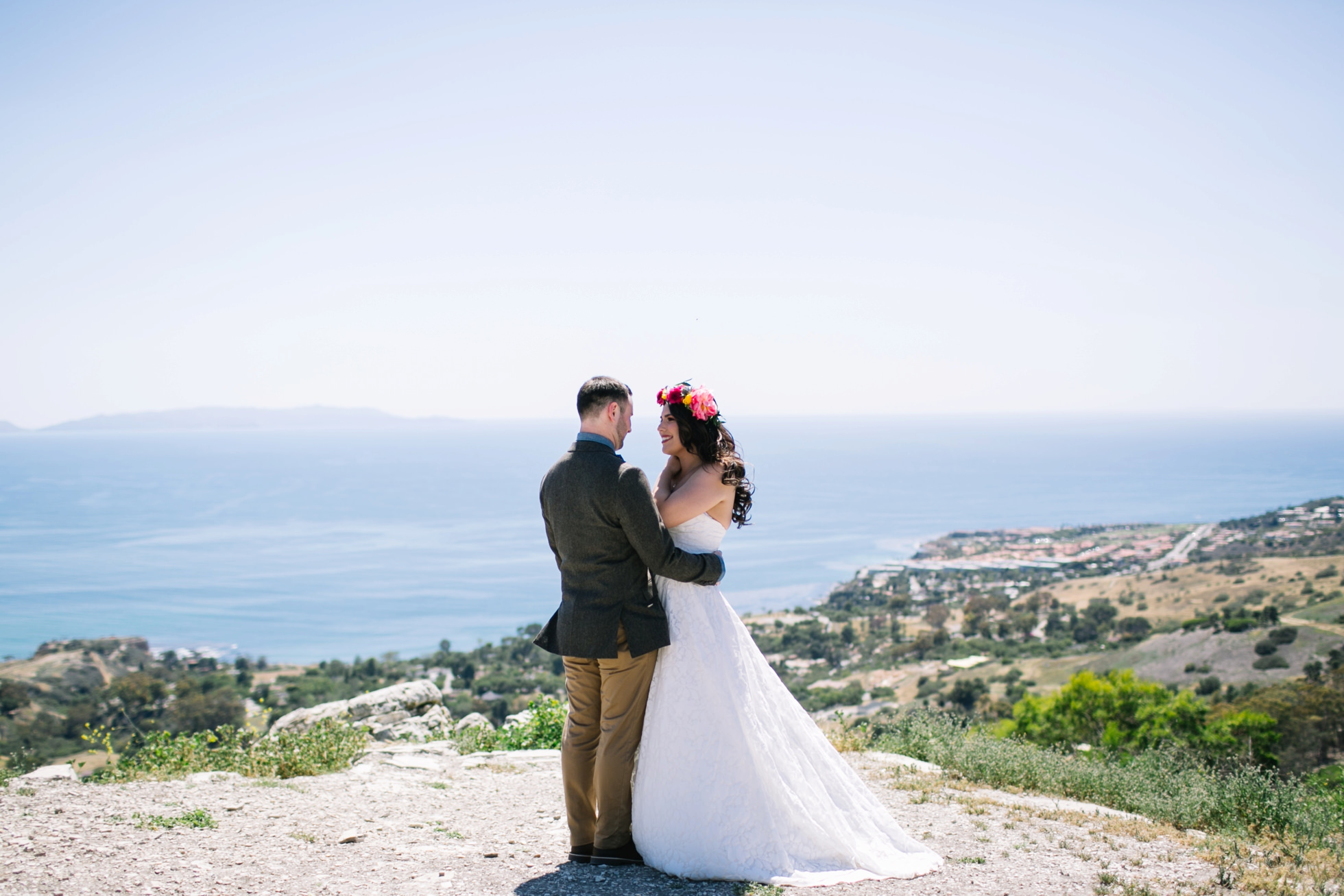 Palos Verdes Southern California Destination Wedding | brittneyraine.com 0021