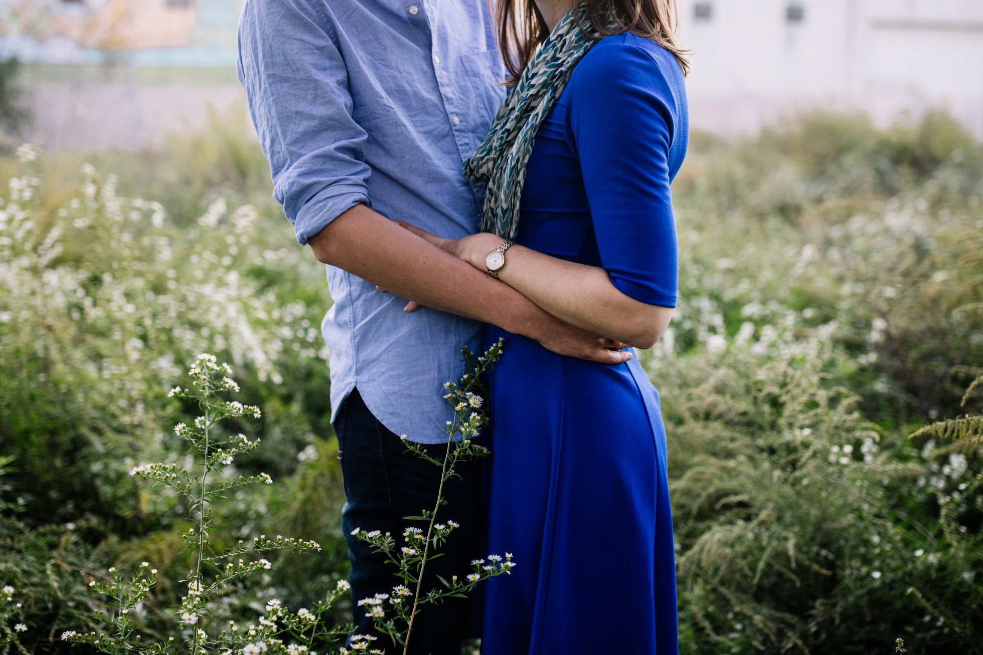 penn treaty park engagement photos