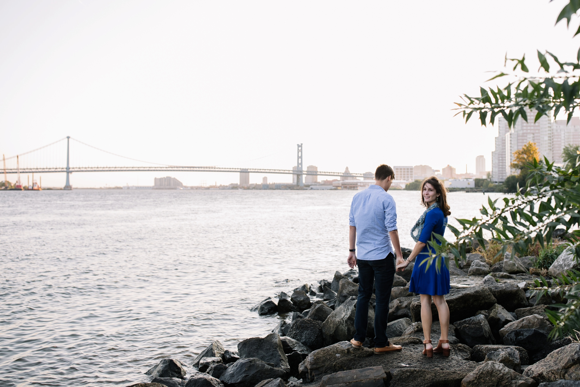 Fishtown engagement photos