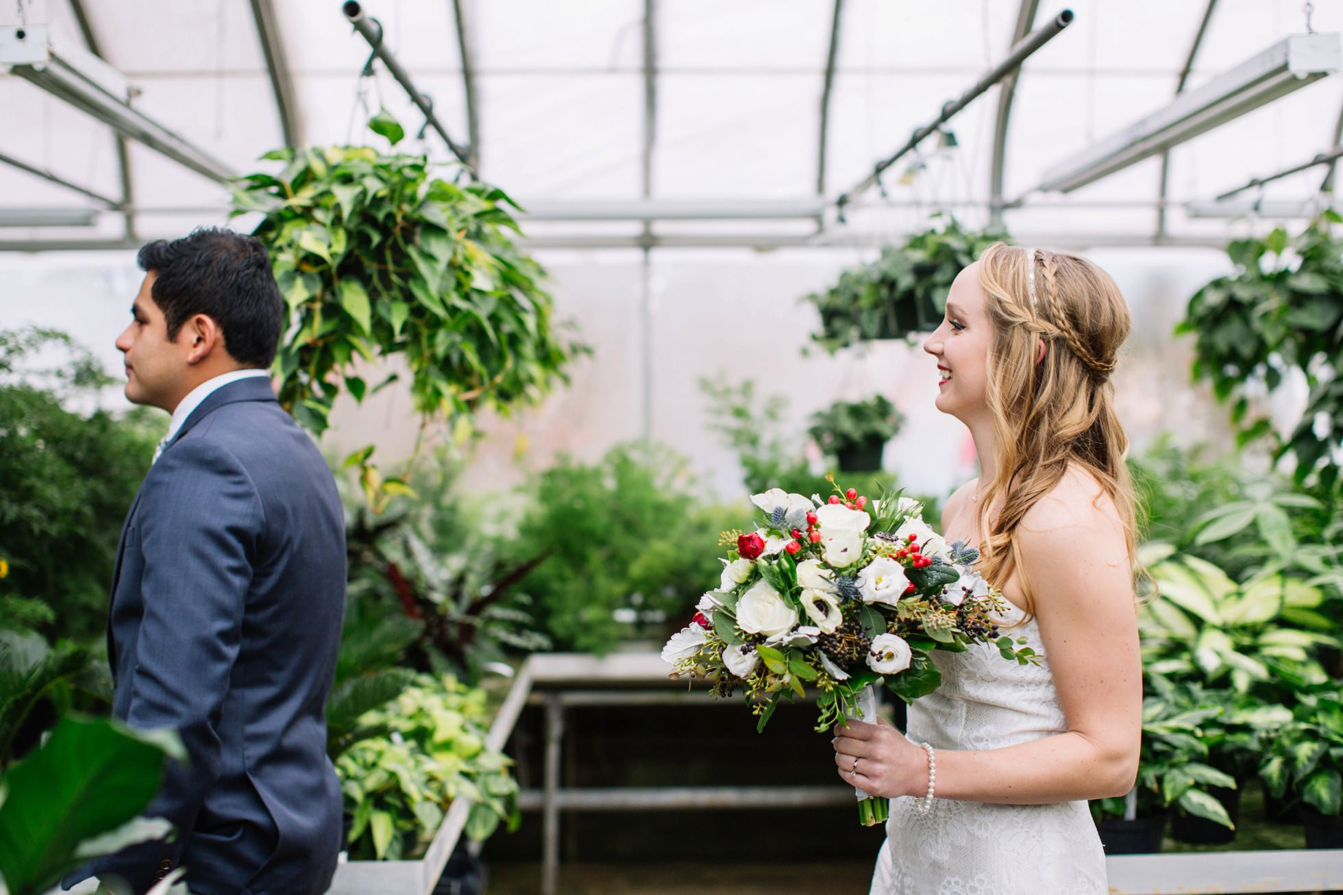 ott's exotic plants wedding photos