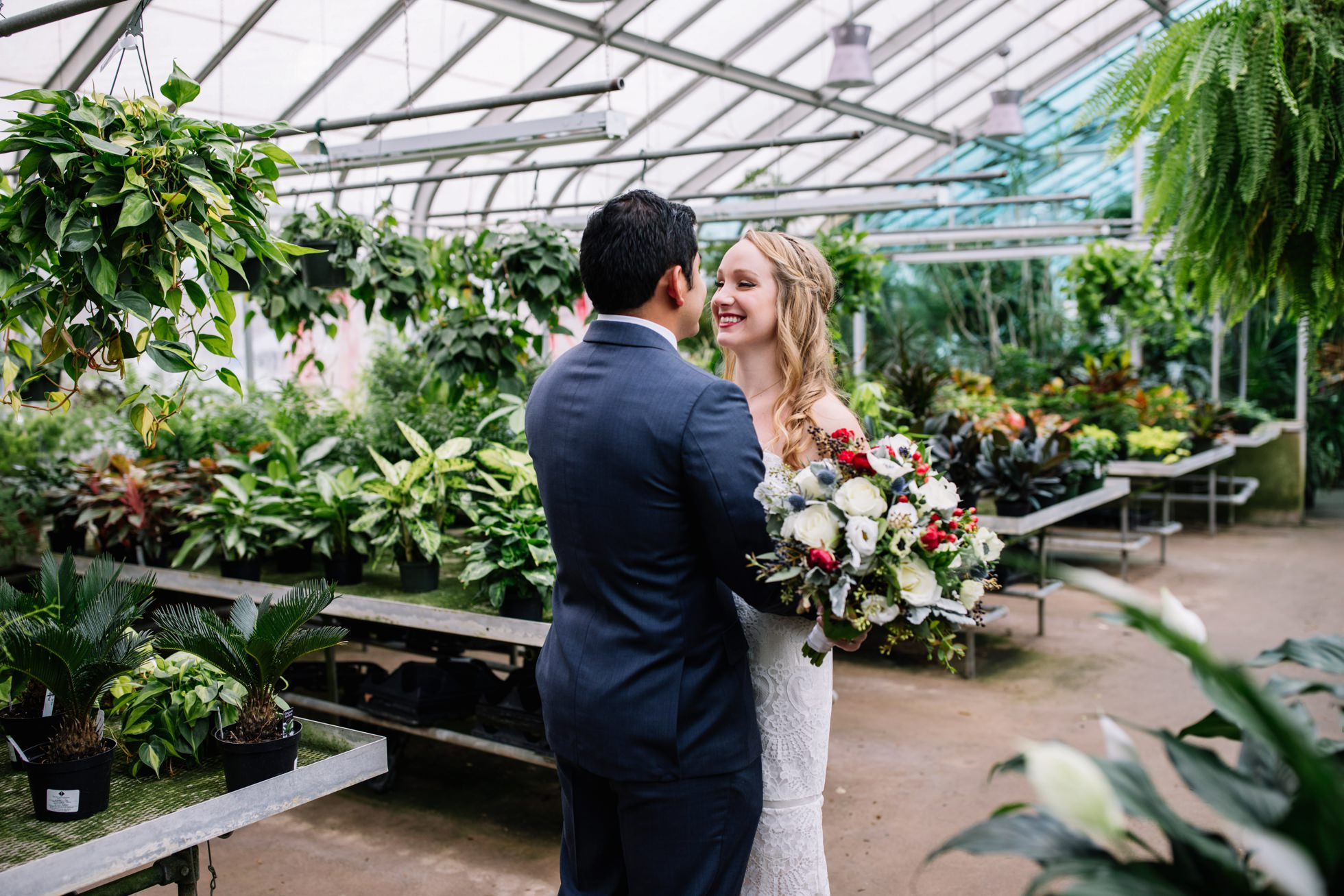 ott's greenhouse wedding photos