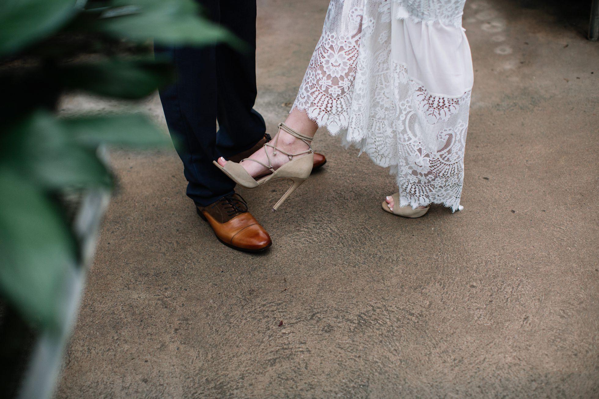 ott's greenhouse wedding photos