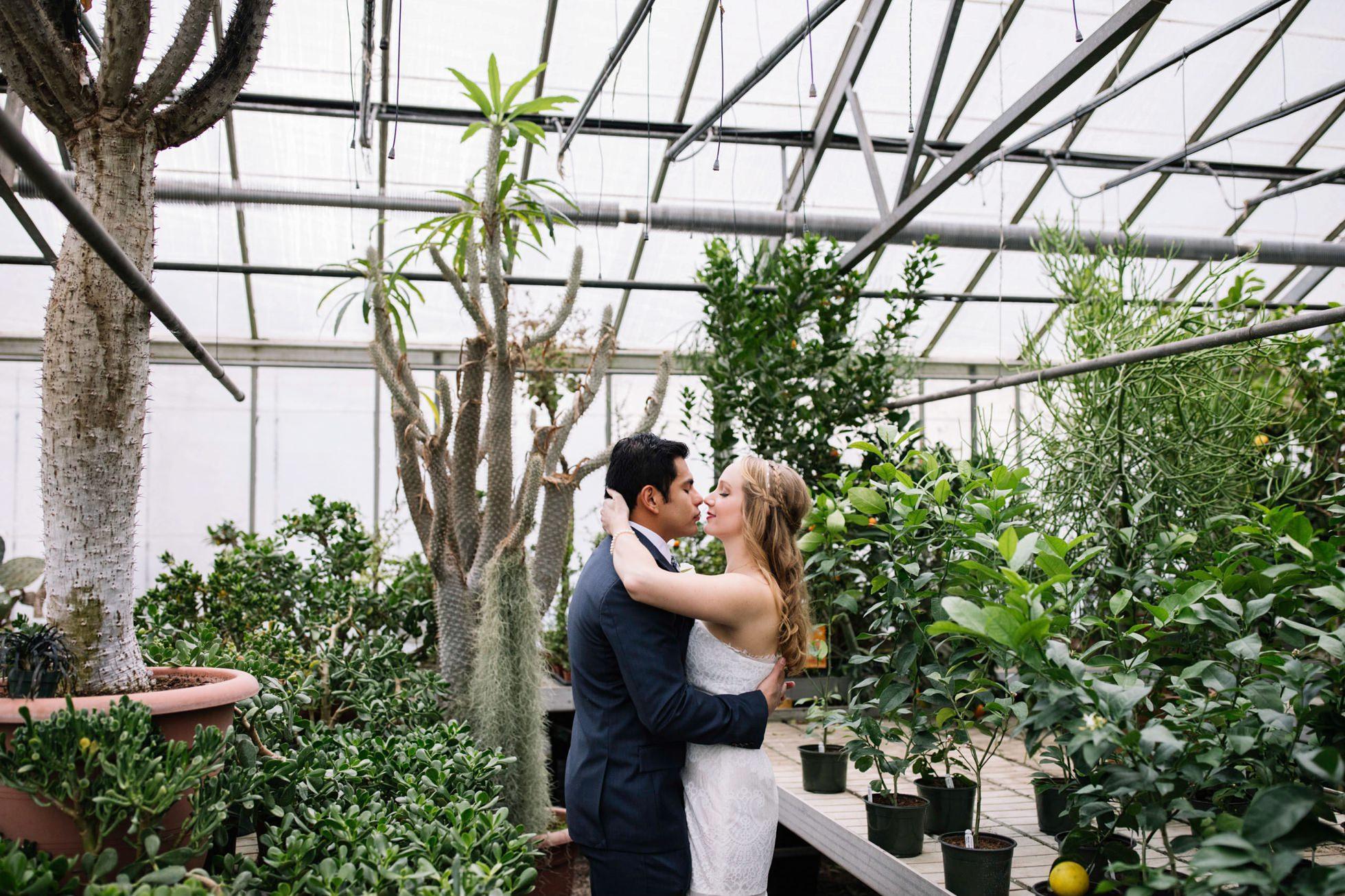 otts greenhouse engagement session