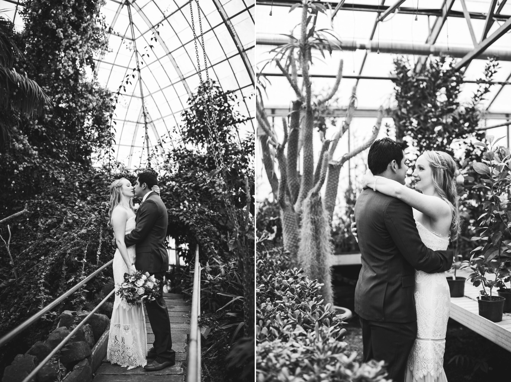 greenhouse wedding photos philadelphia