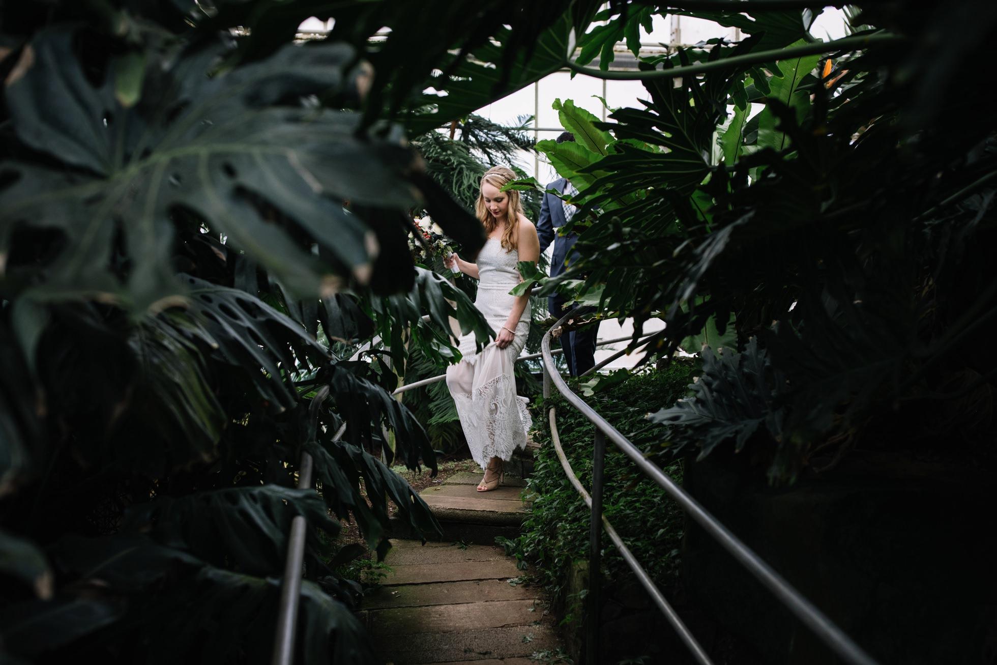 greenhouse wedding photos philadelphia