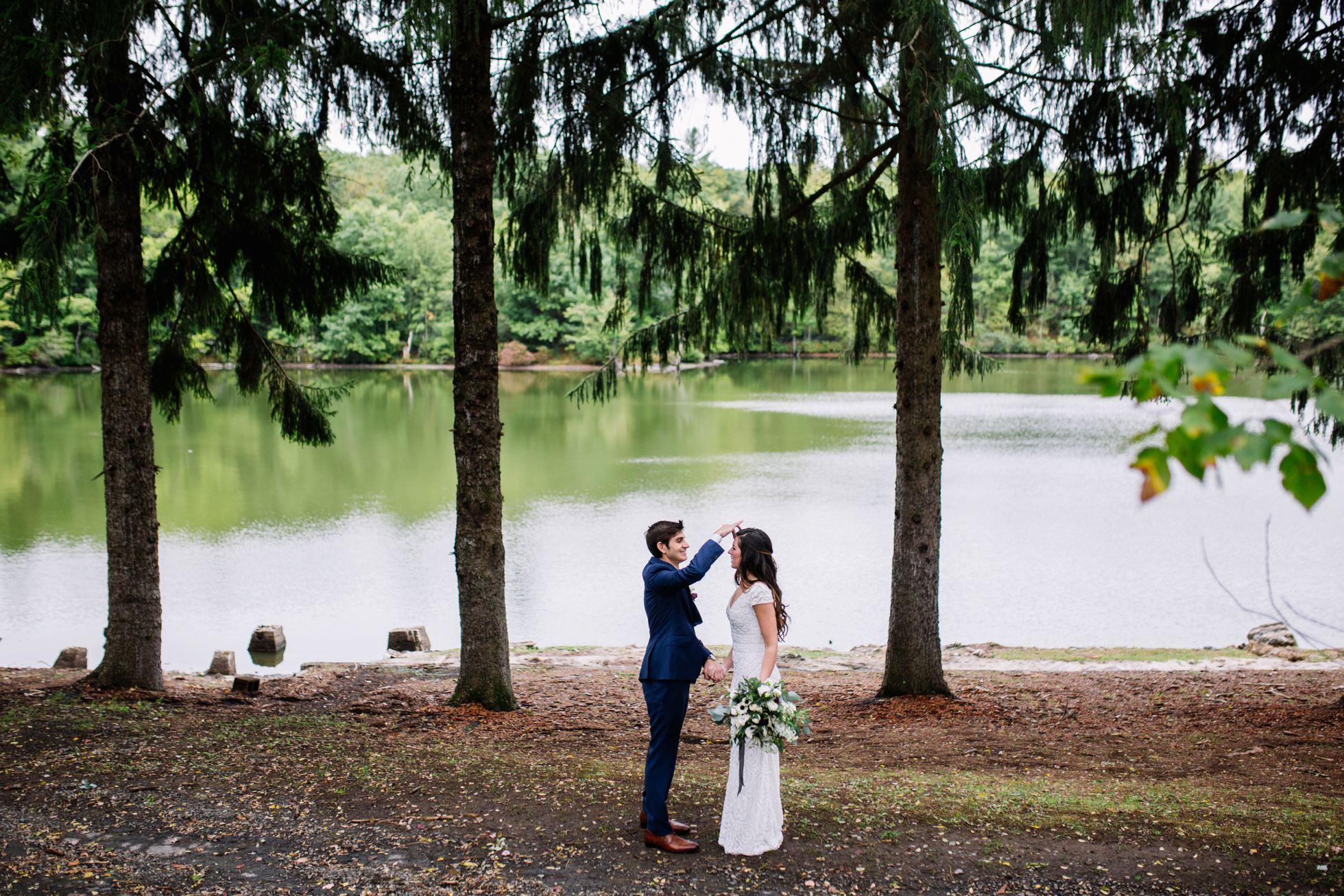 pocono springs camp wedding
