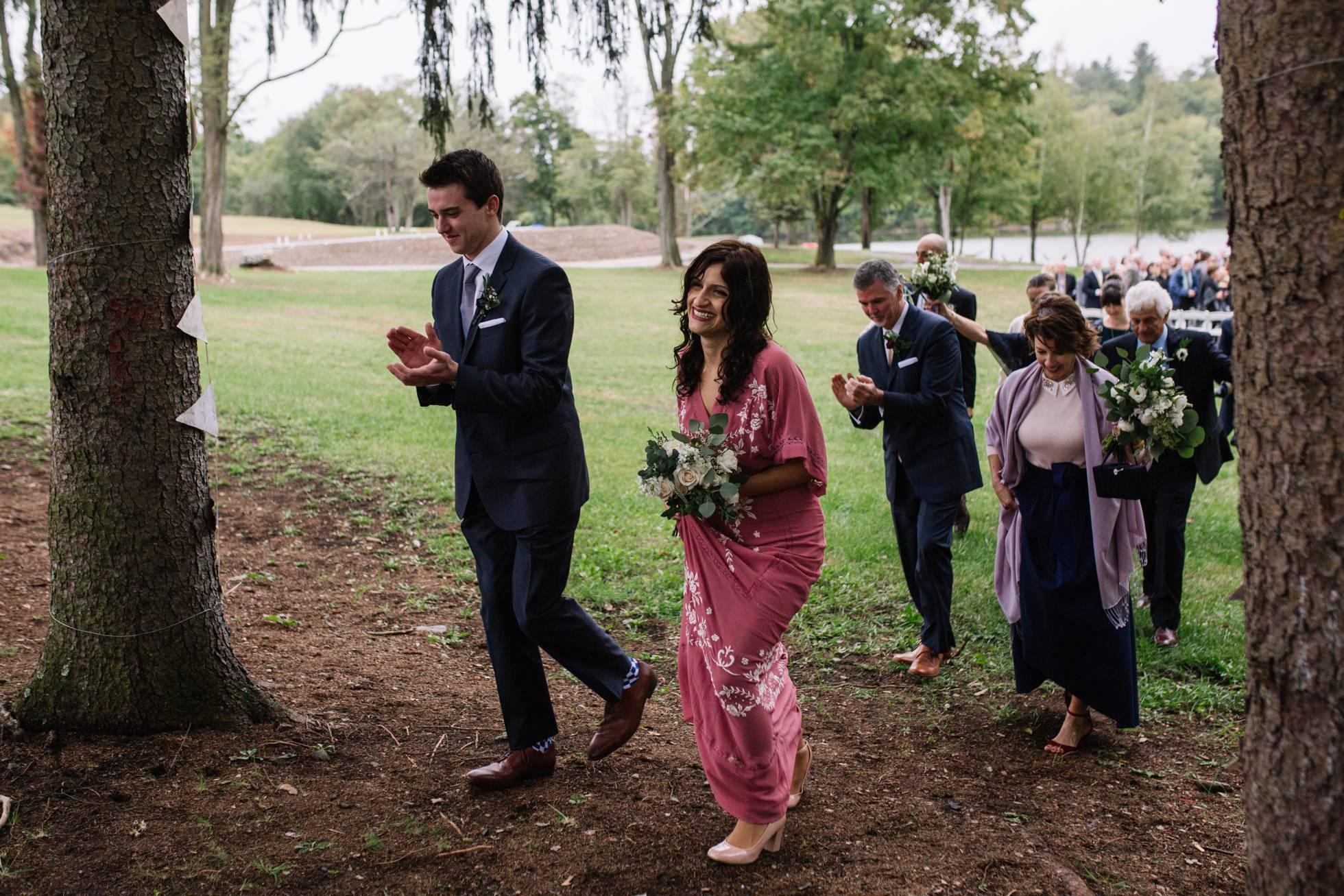 summer camp wedding pennsylvania