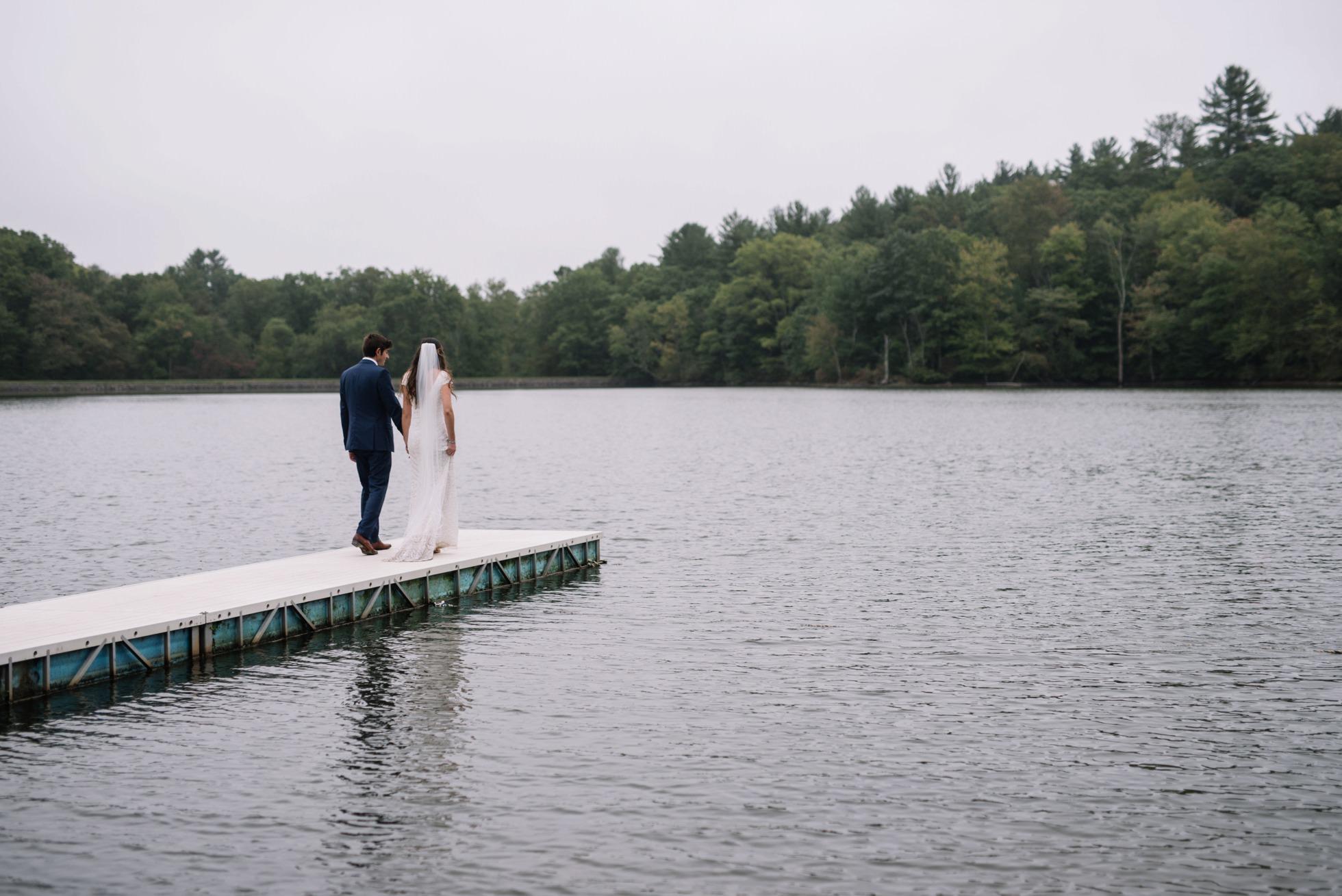 Best Unique PA NY NJ Wedding Venues - Pocono Springs Scout Camp Lakeside