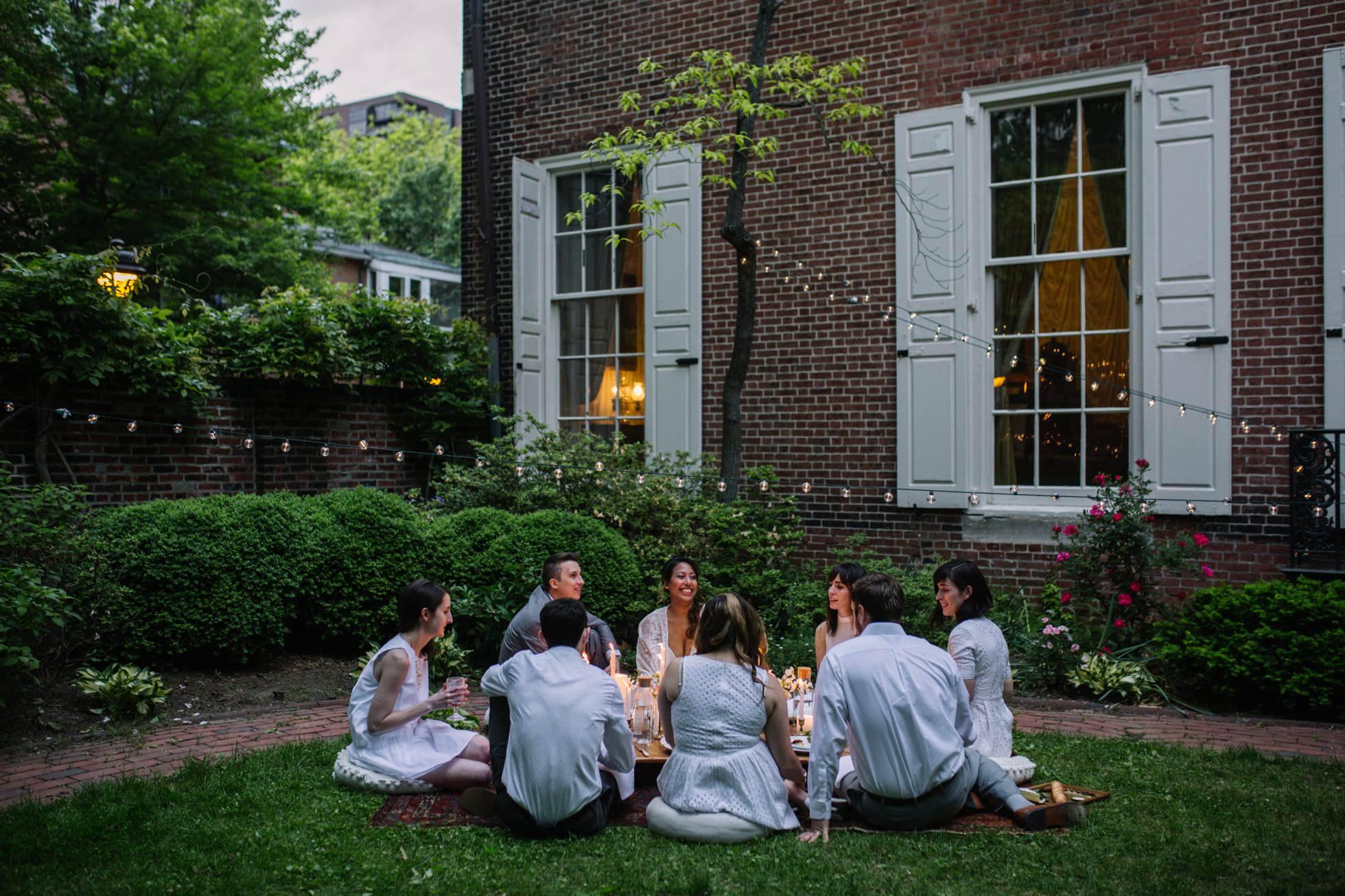 Best Unique PA NY NJ Wedding Venues - Physick Powel House Philadelphia