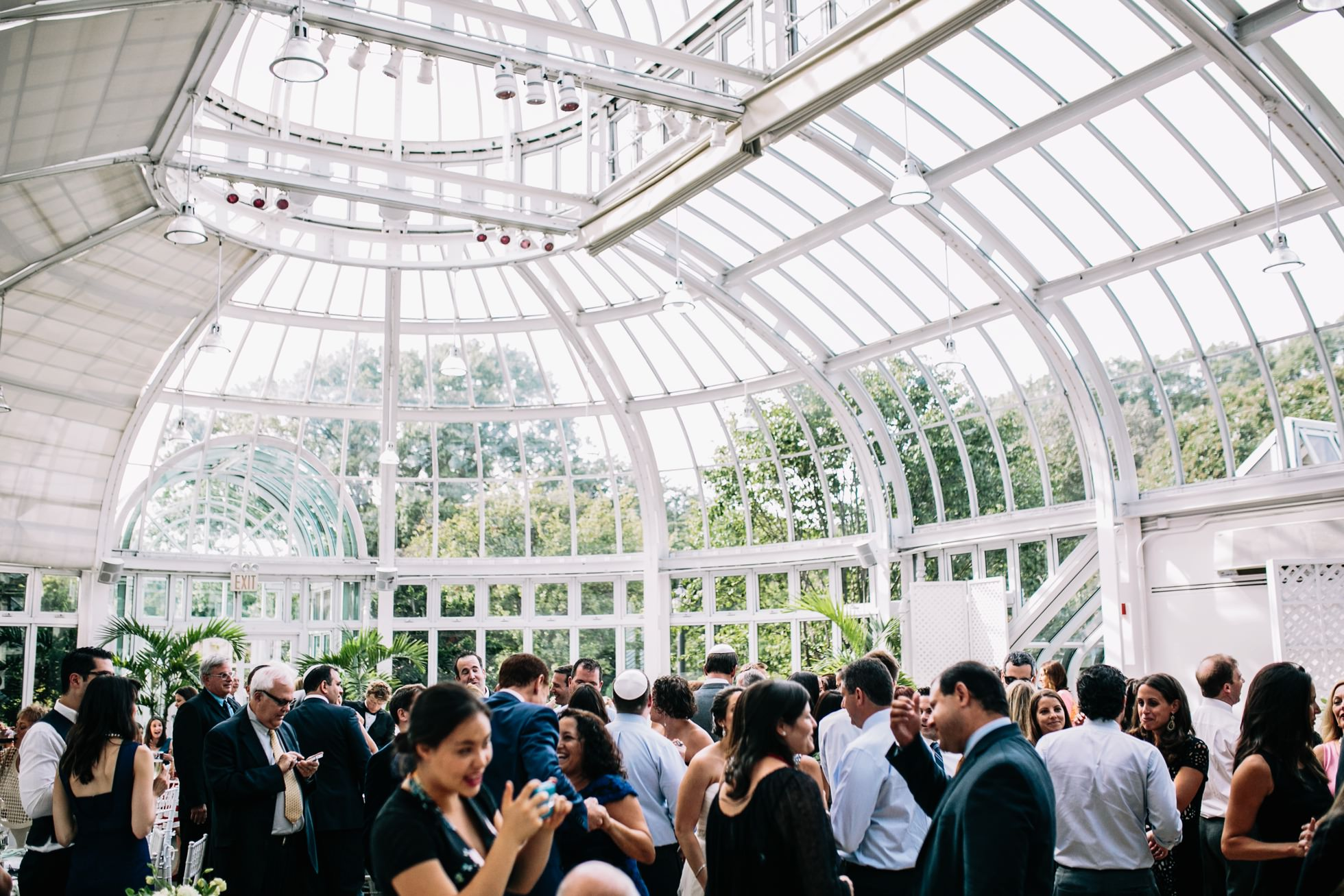 Best Unique PA NY NJ Wedding Venues - Brooklyn Botanical Garden Palm House