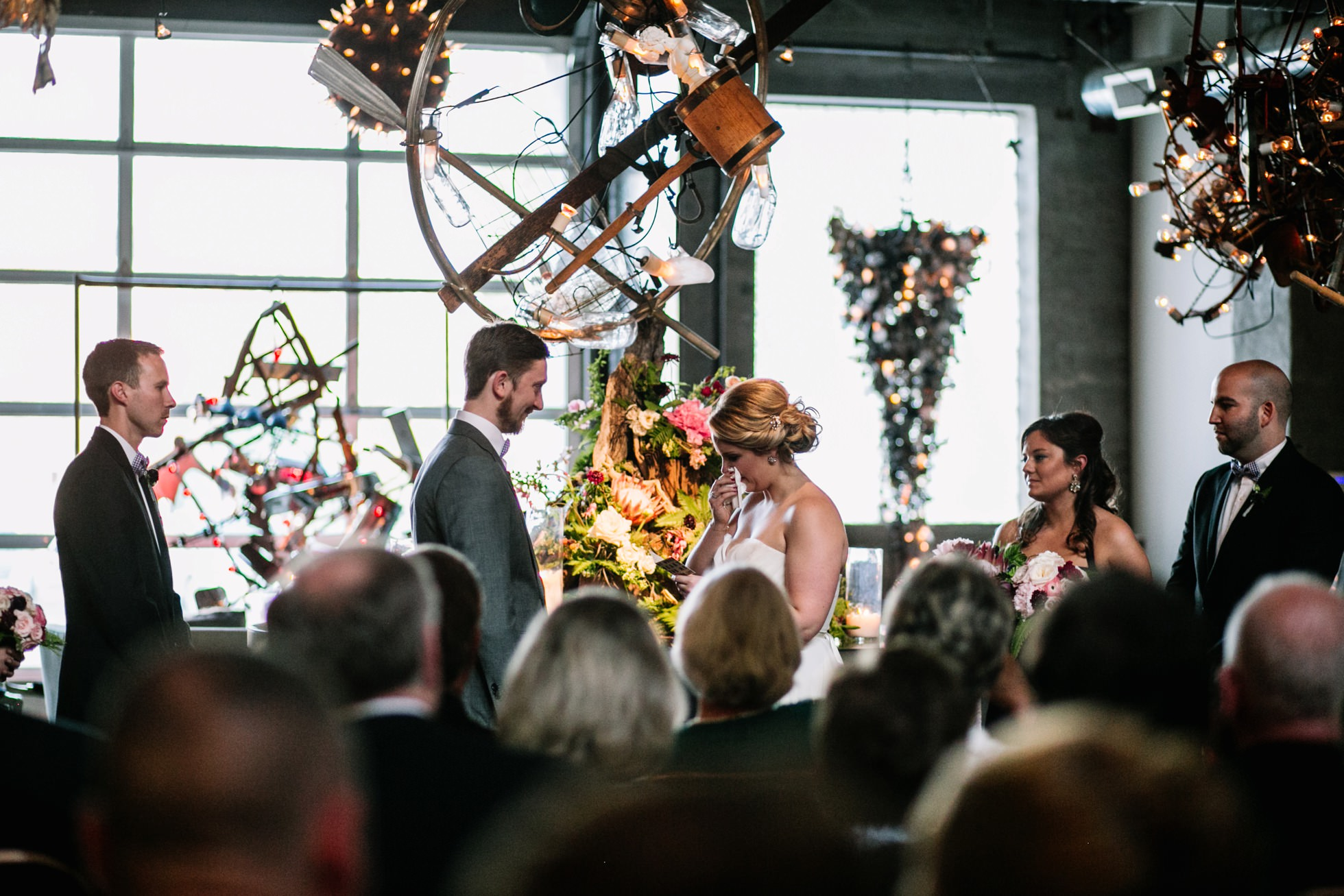 Best Unique PA NY NJ Wedding Venues - Industrial Art Gallery Bahdeebahdu