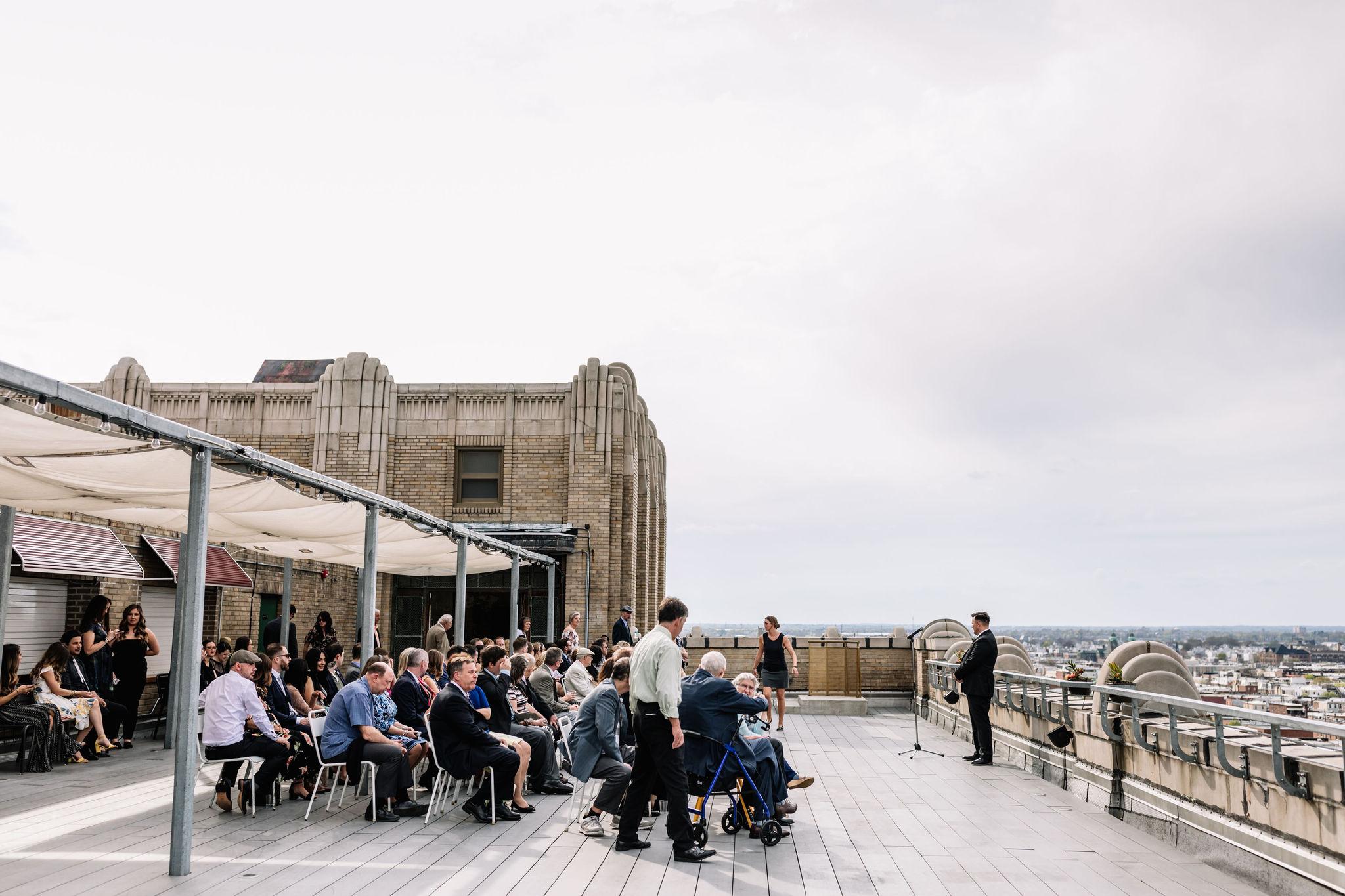 Rooftop wedding venues Philadelphia - Bok Bar