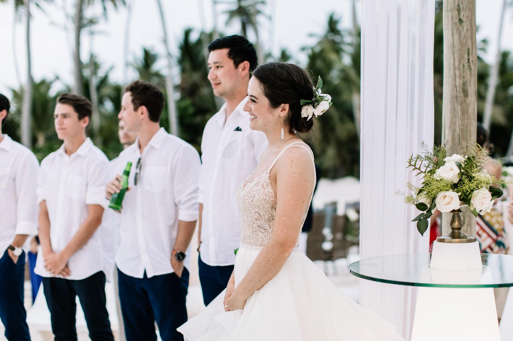Tropical Punta Cana Destination Wedding - Non-Traditional