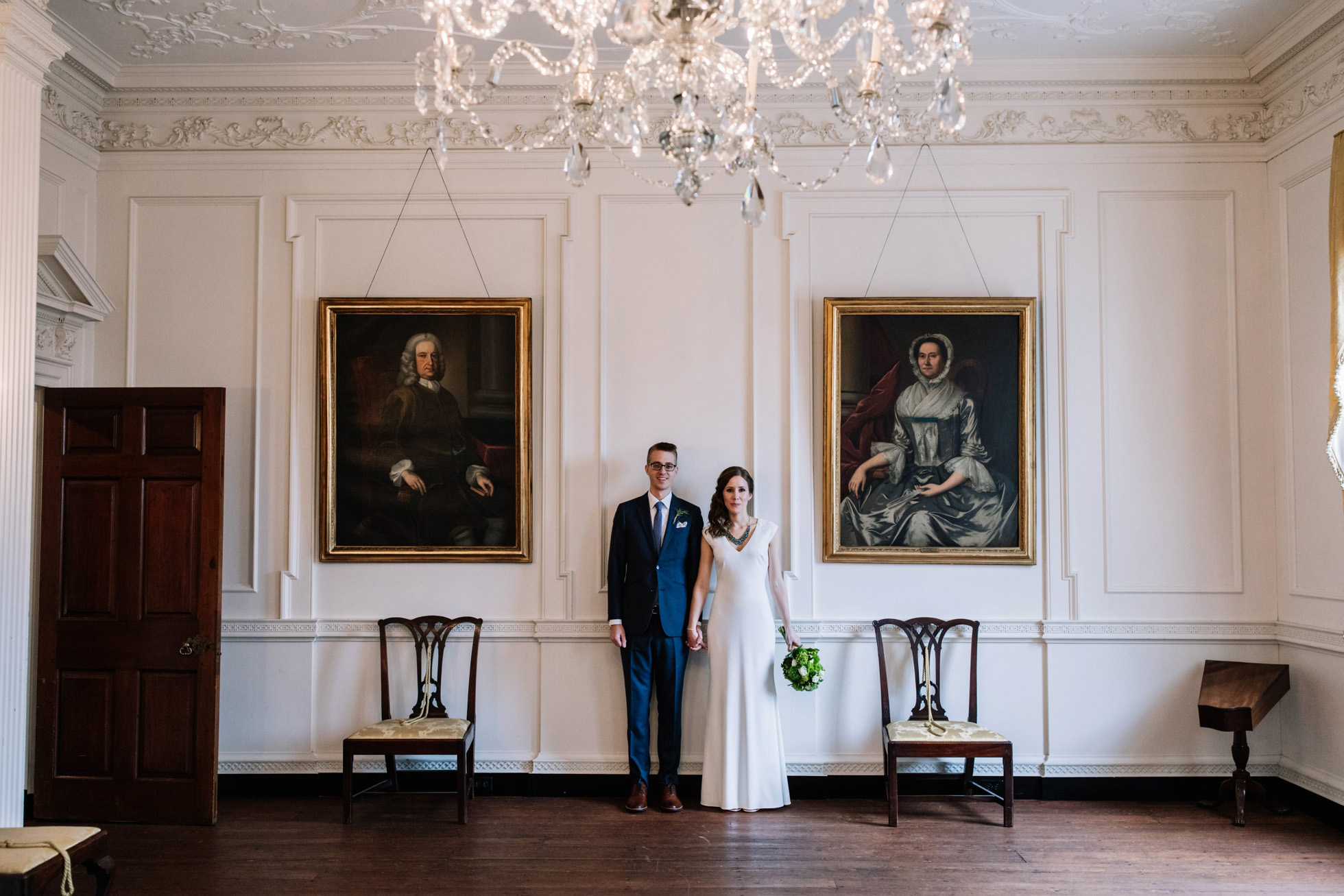 Powel House Intimate Wedding Philadelphia