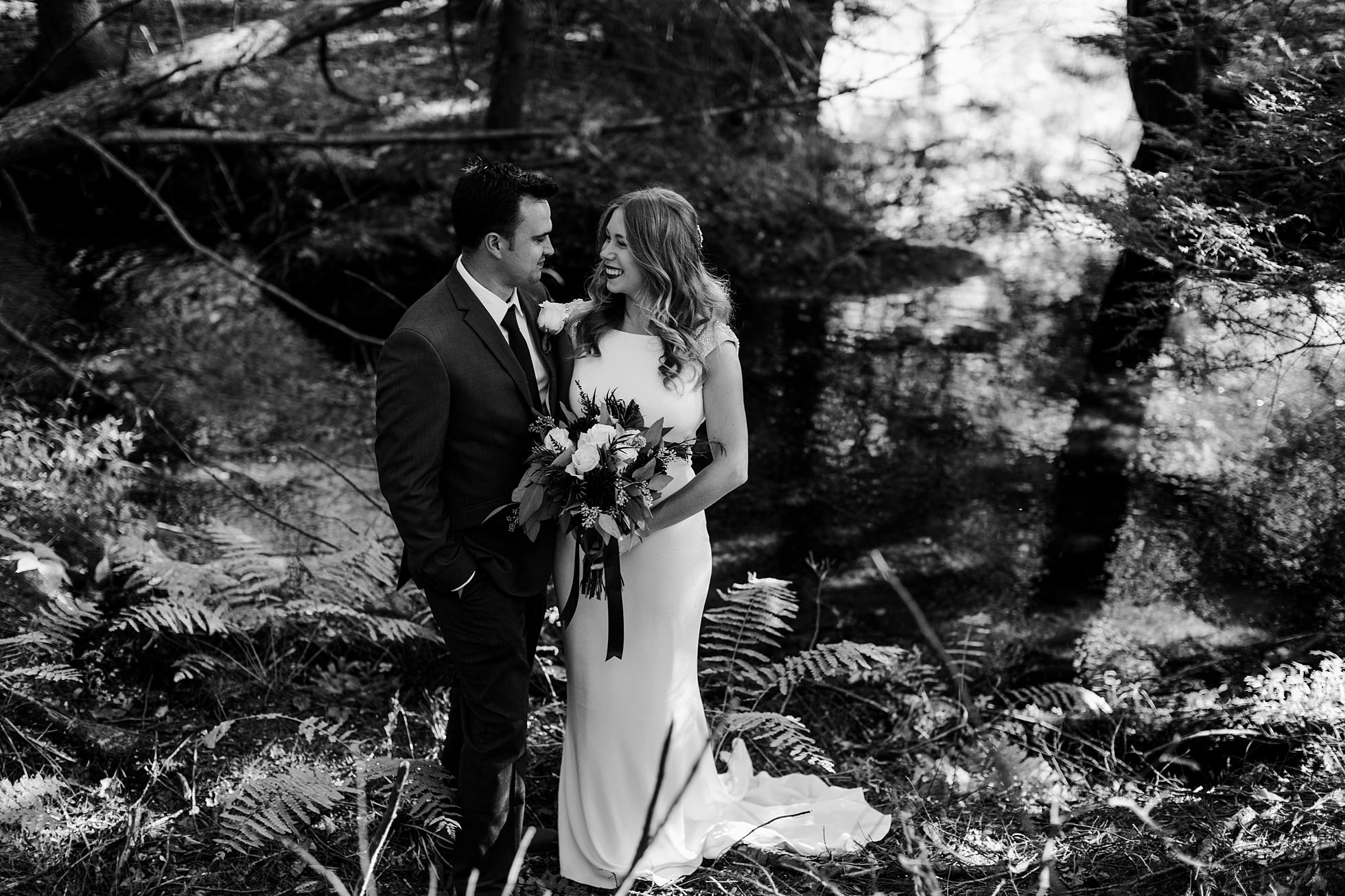 PNW Forest Elopement Photographer