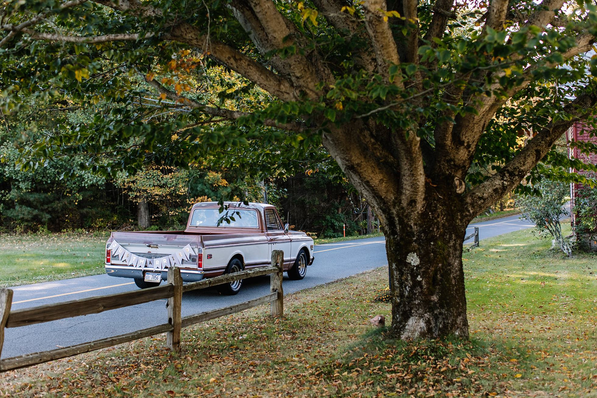 Rural Outdoor Elopement Autumn
