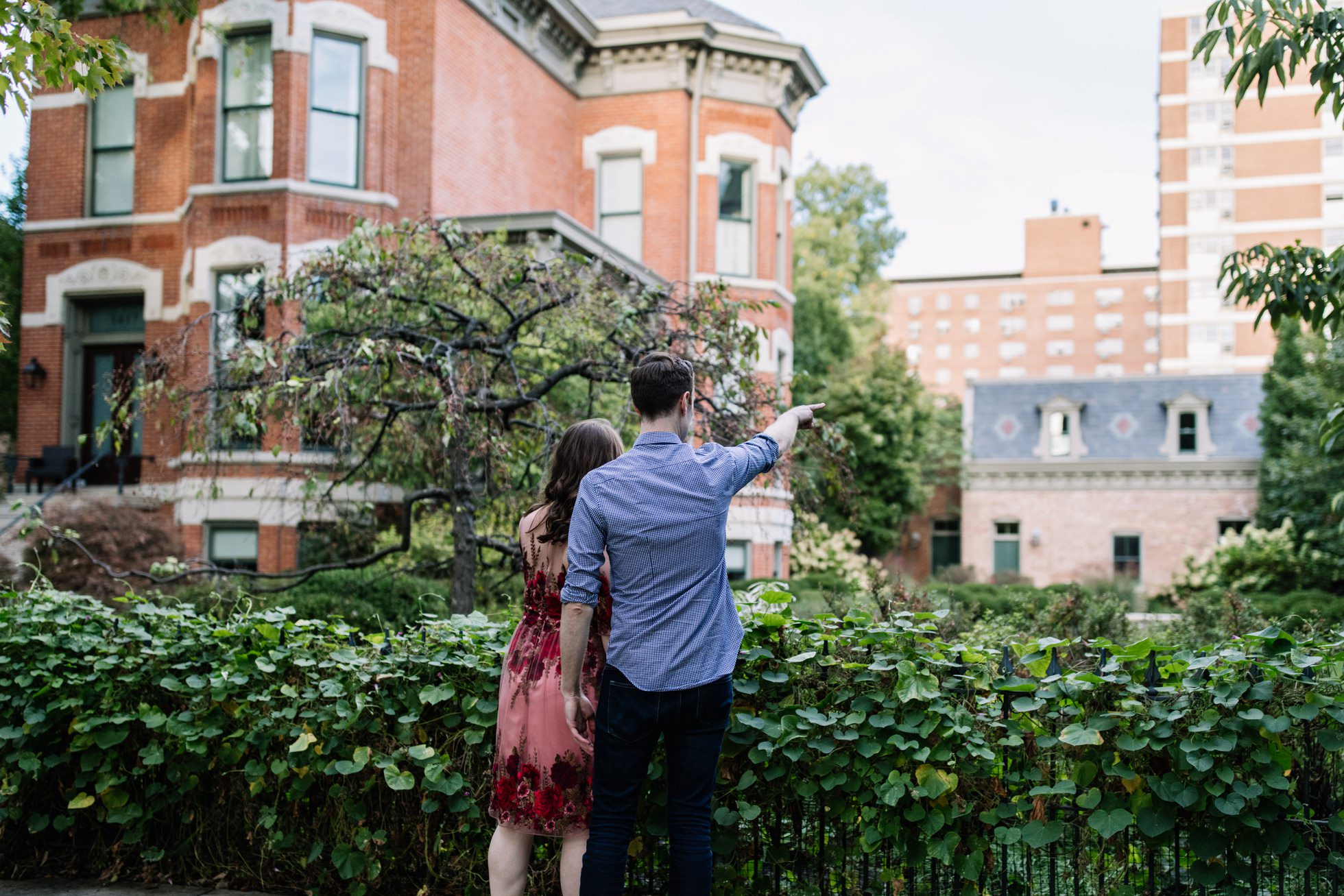 wicker park engagement session