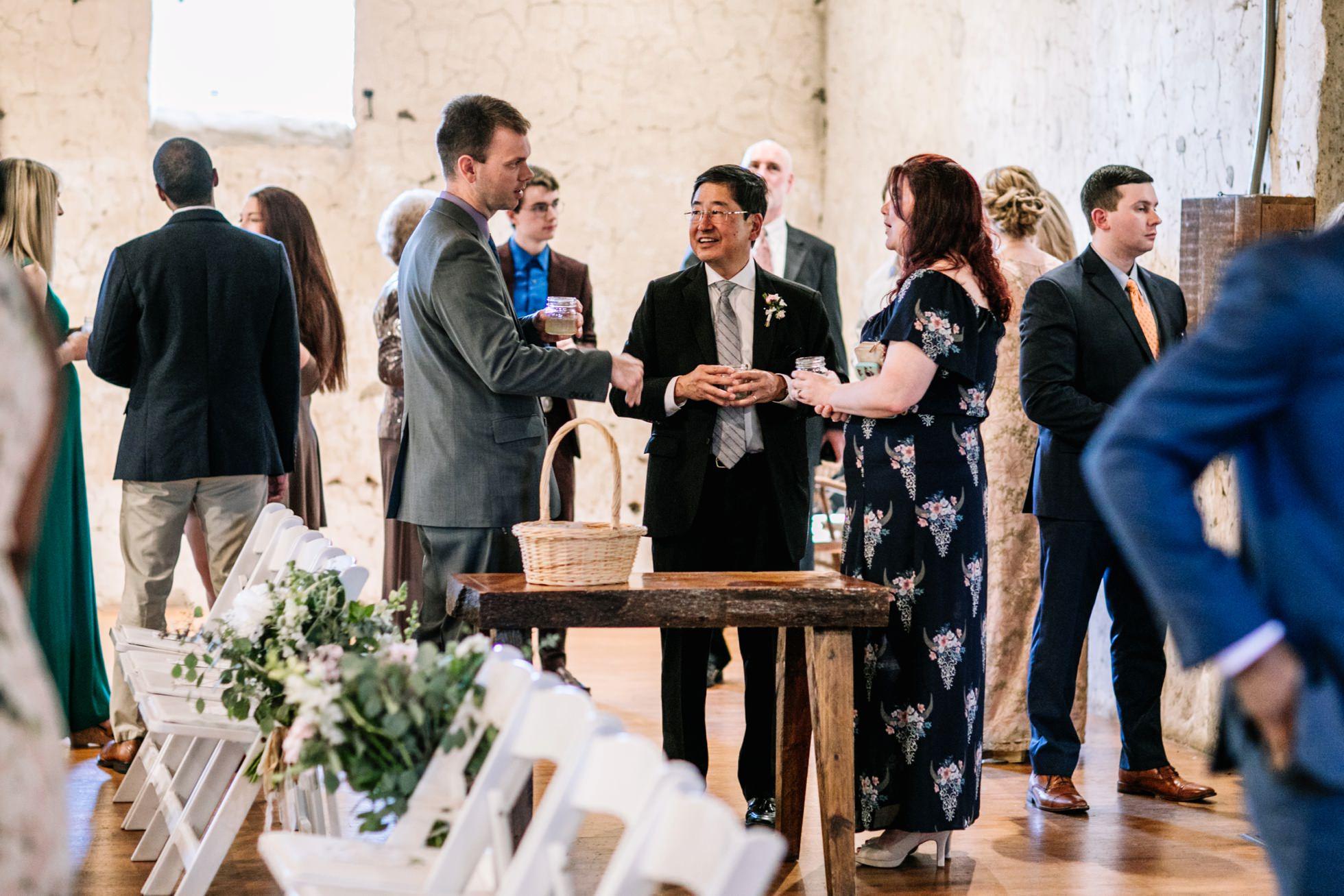 Romantic Audubon Center wedding