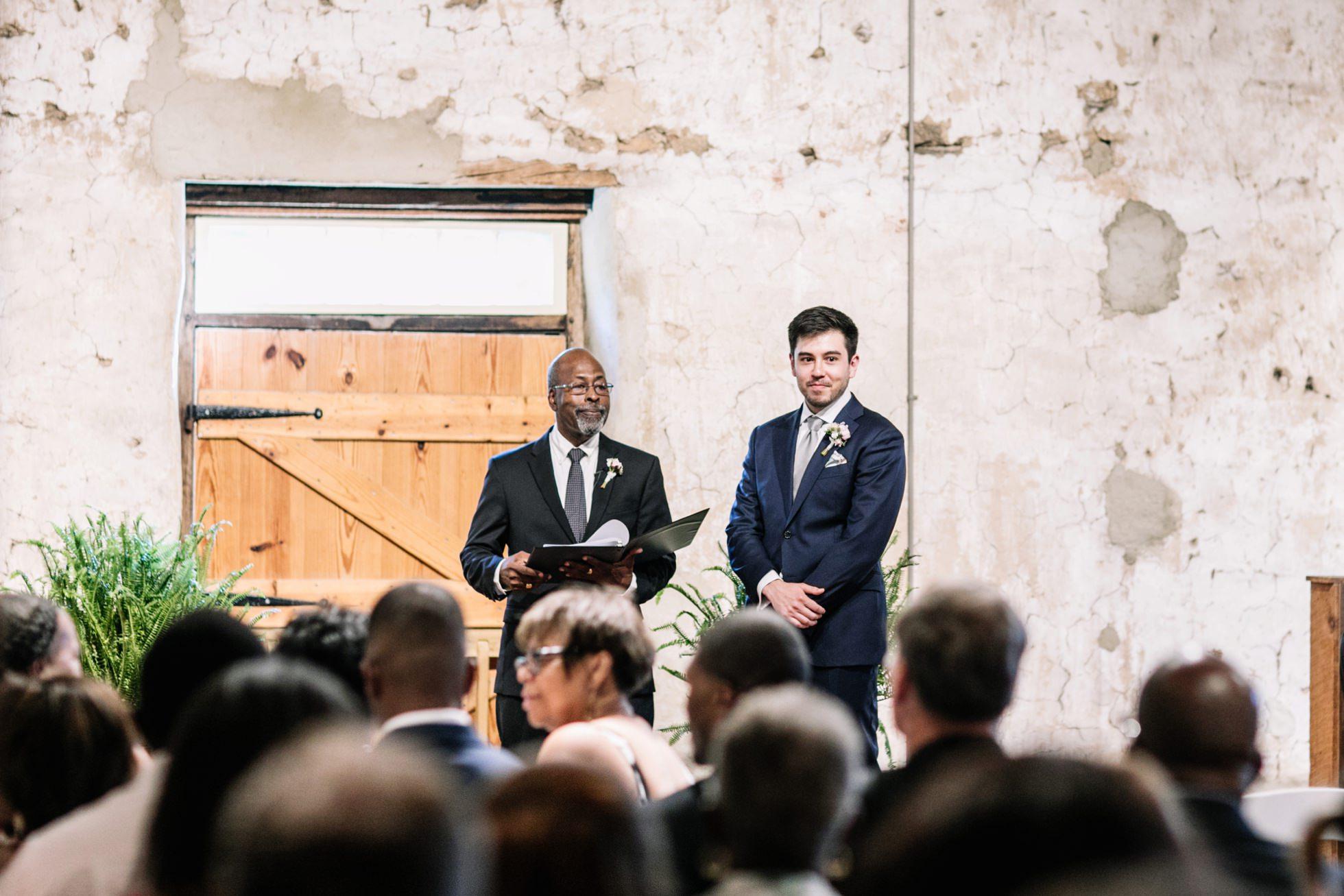 Multicultural Audubon Center wedding