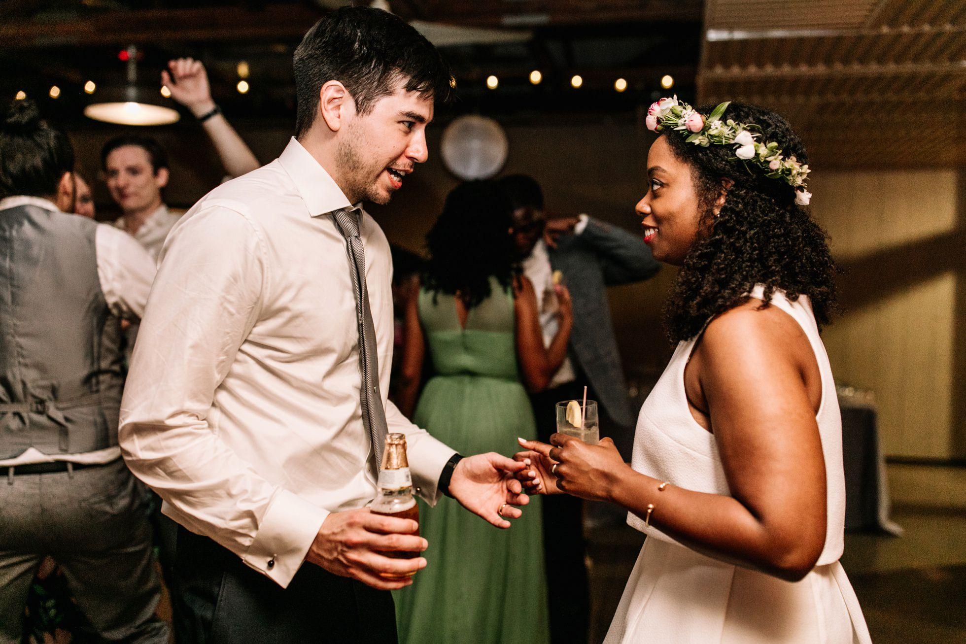 Multicultural Audubon Center PA wedding