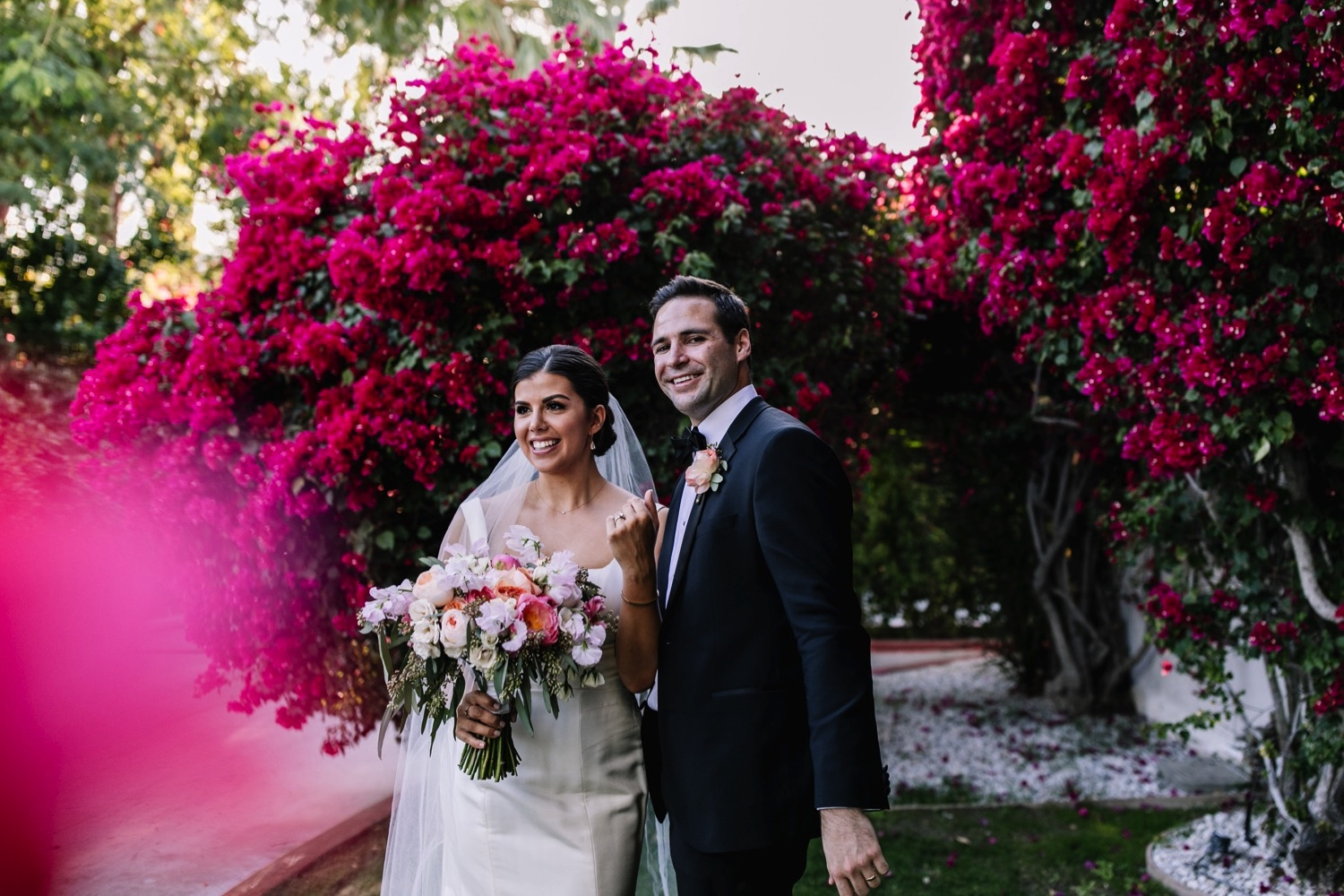Stylish Palm Springs Wedding Photography