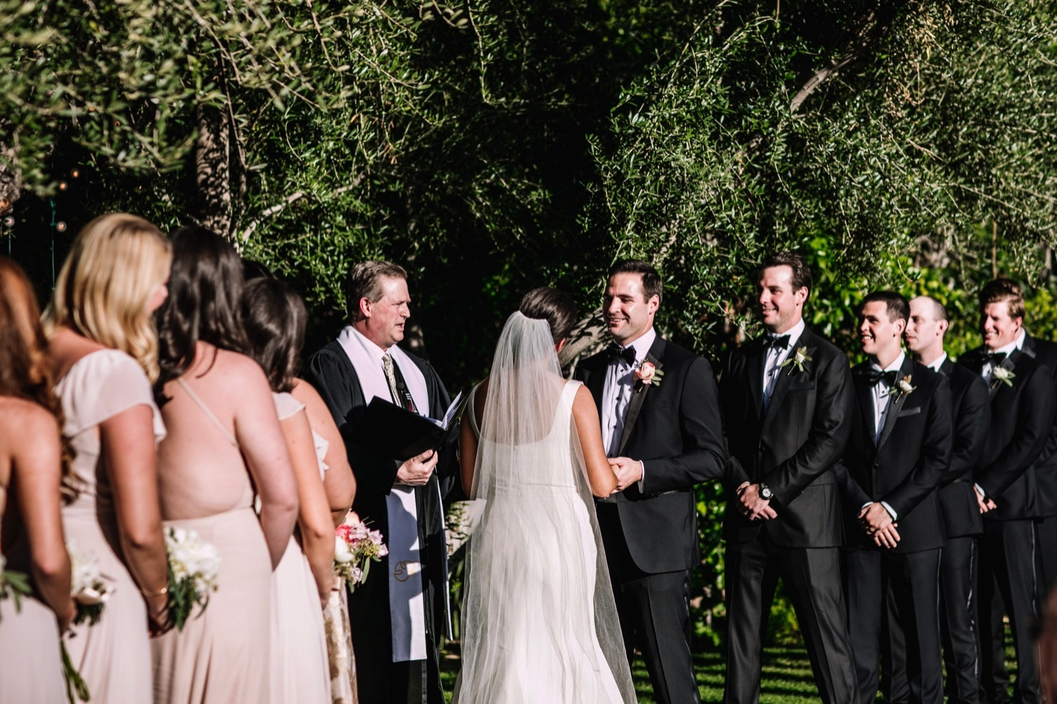 Palm Springs Outdoor Wedding Photos