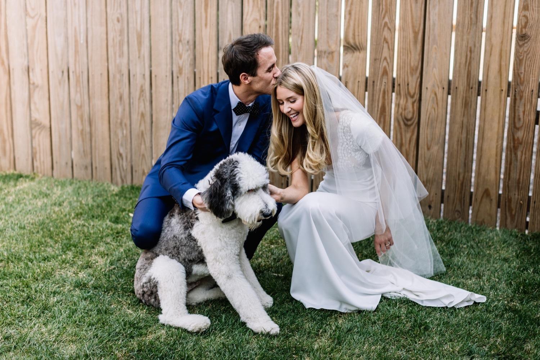 Stylish Downtown Philadelphia Wedding with Dogs