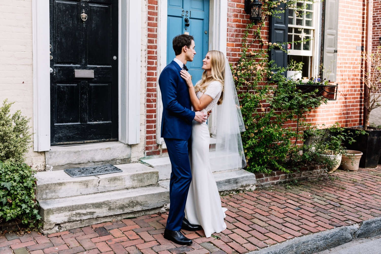 Stylish Editorial Philly Wedding Photography