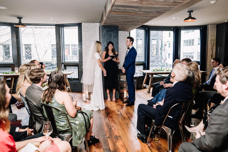 Romantic Intimate Barbuzzo Wedding