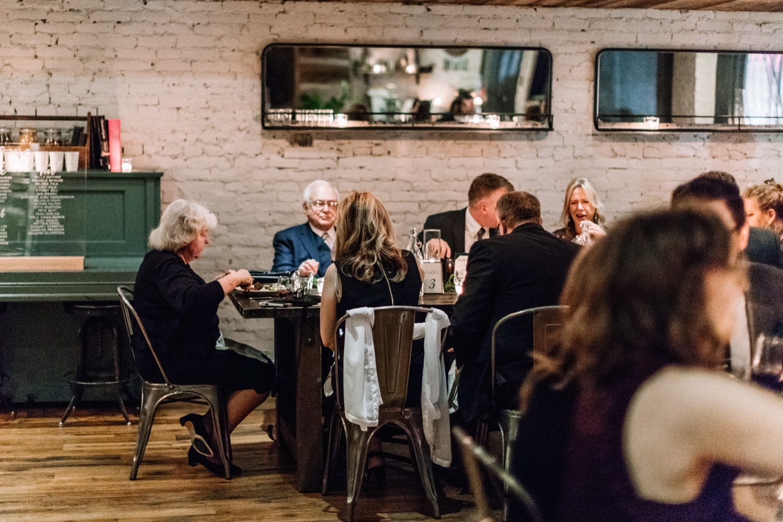Dinner Party Wedding Reception Pennsylvania