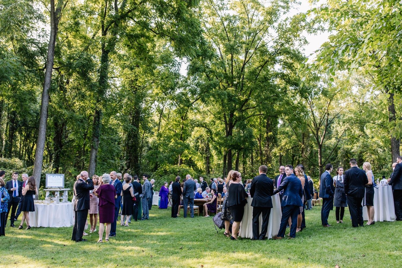 Anthony Wayne House Outdoor Wedding
